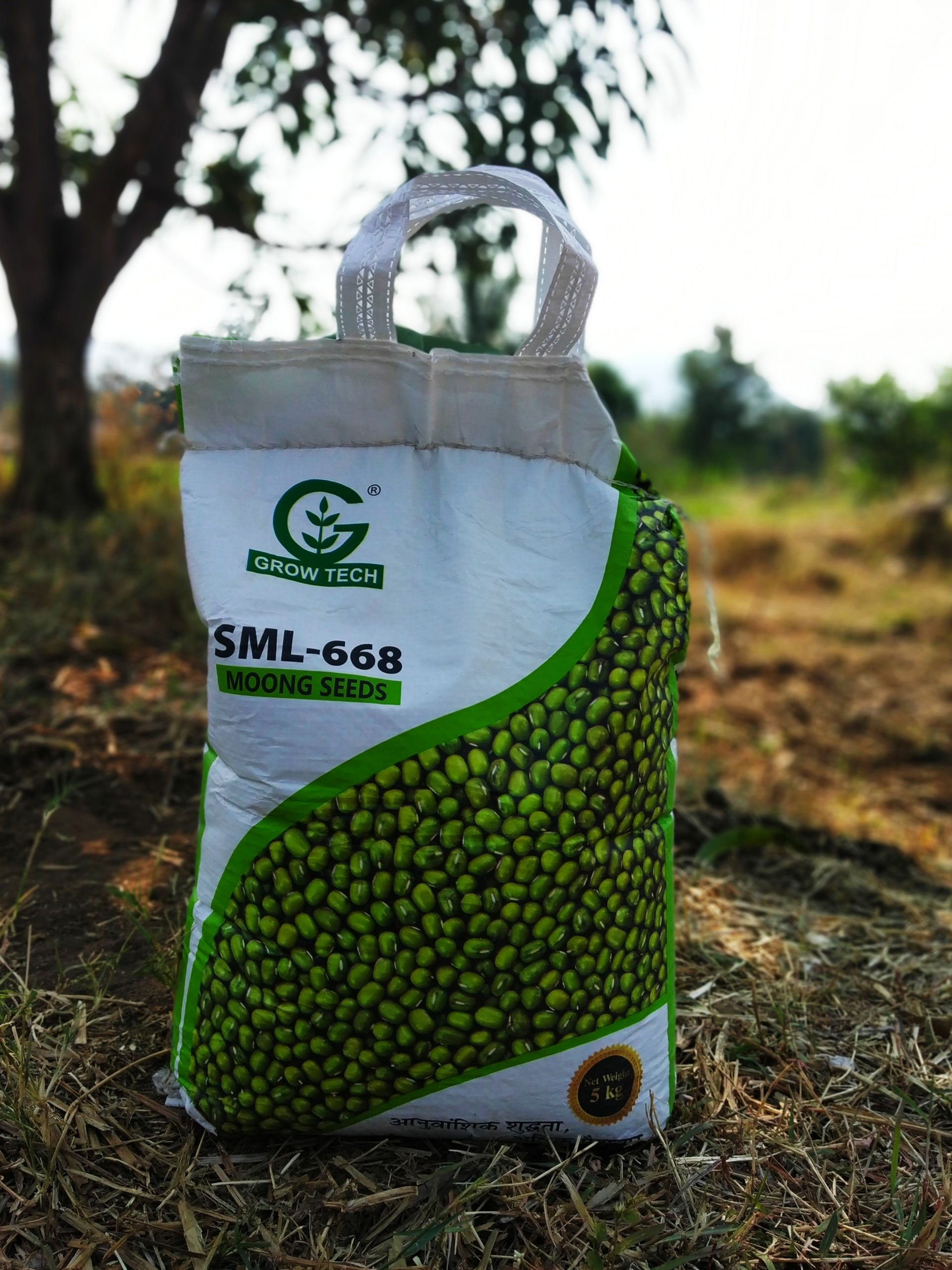 Moong seeds packet