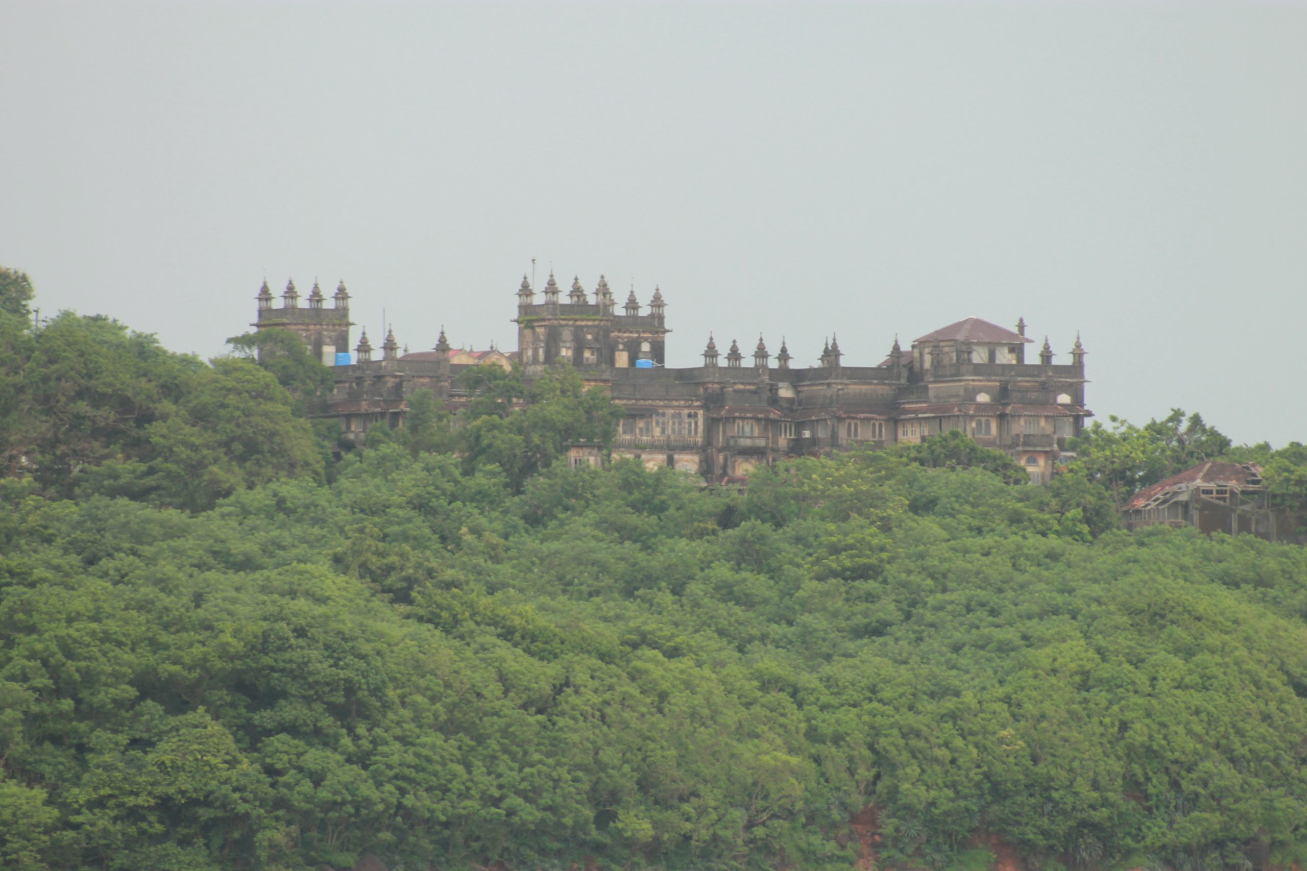 Palace in the forest