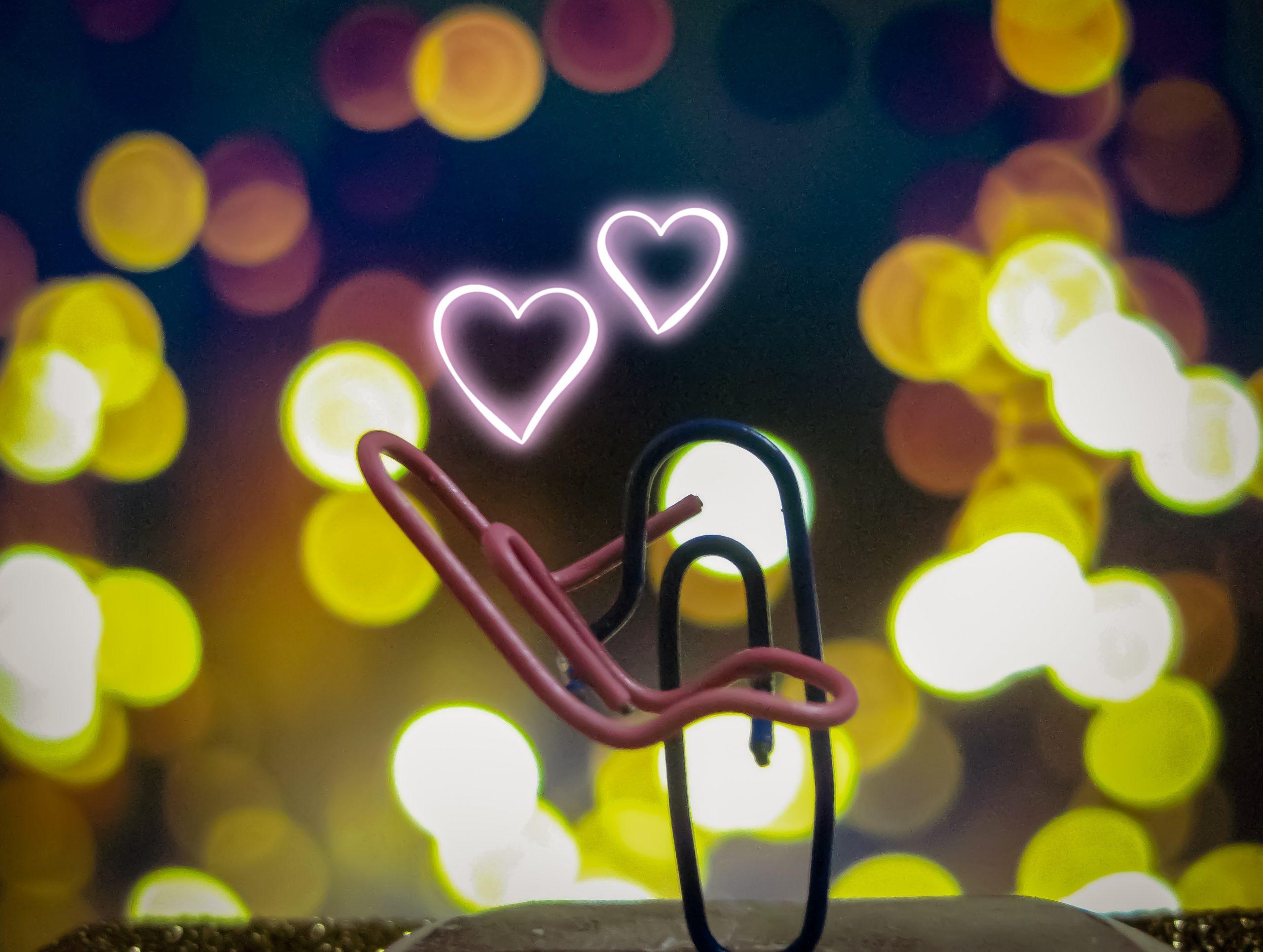 Paper clip love