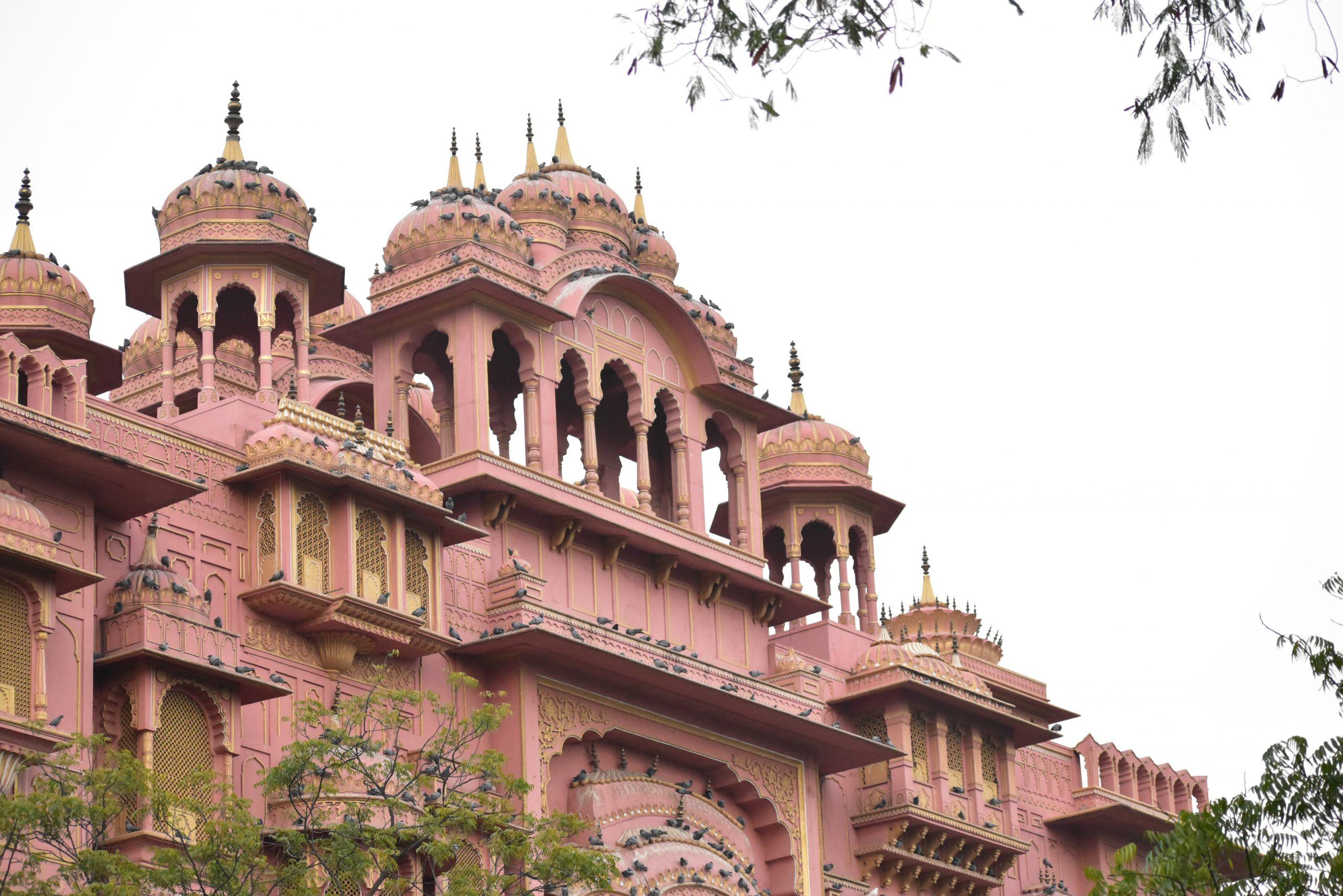 Patrika gate in Jaipur