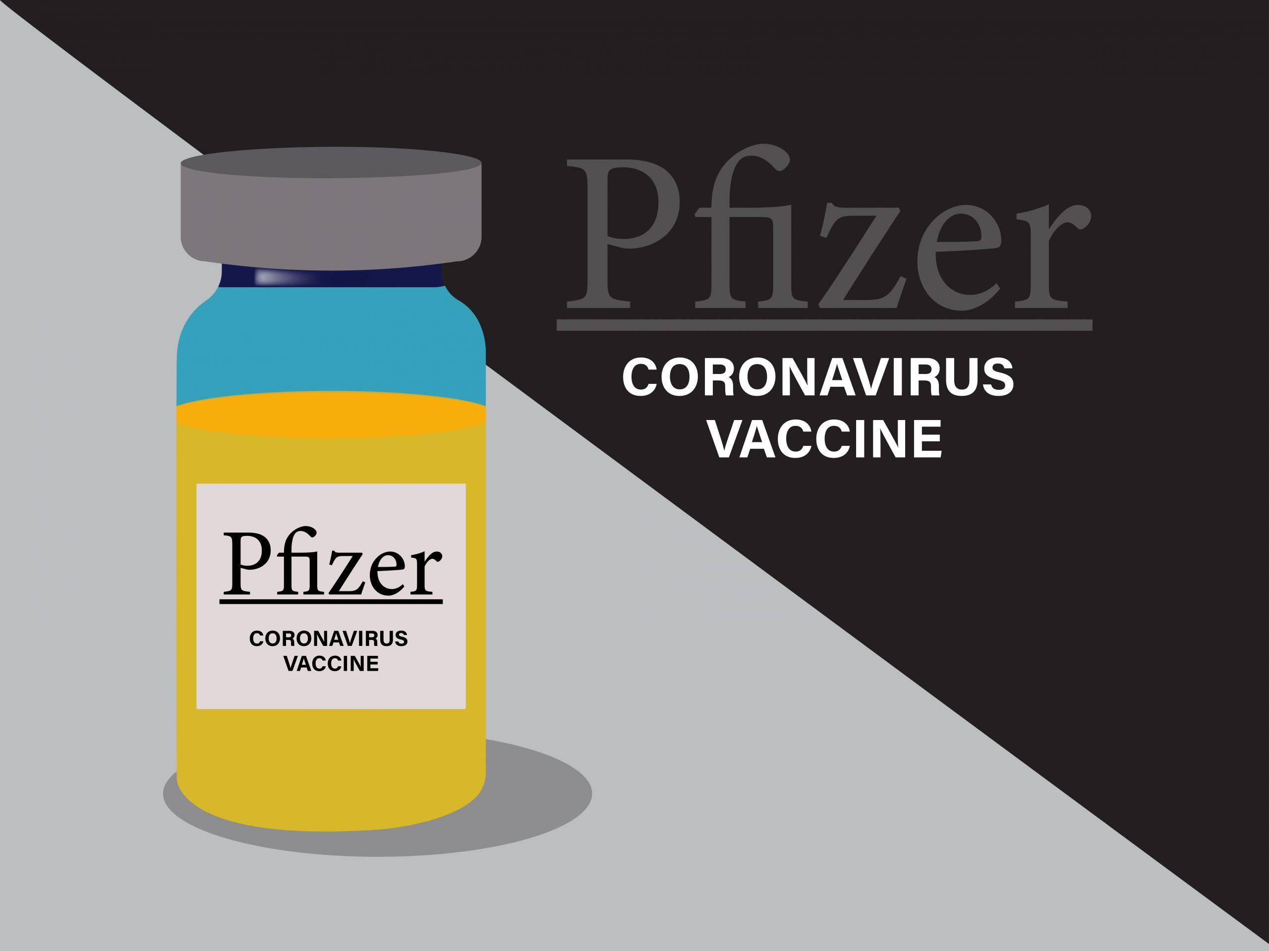 Illustration of a COVID-19 Vaccine