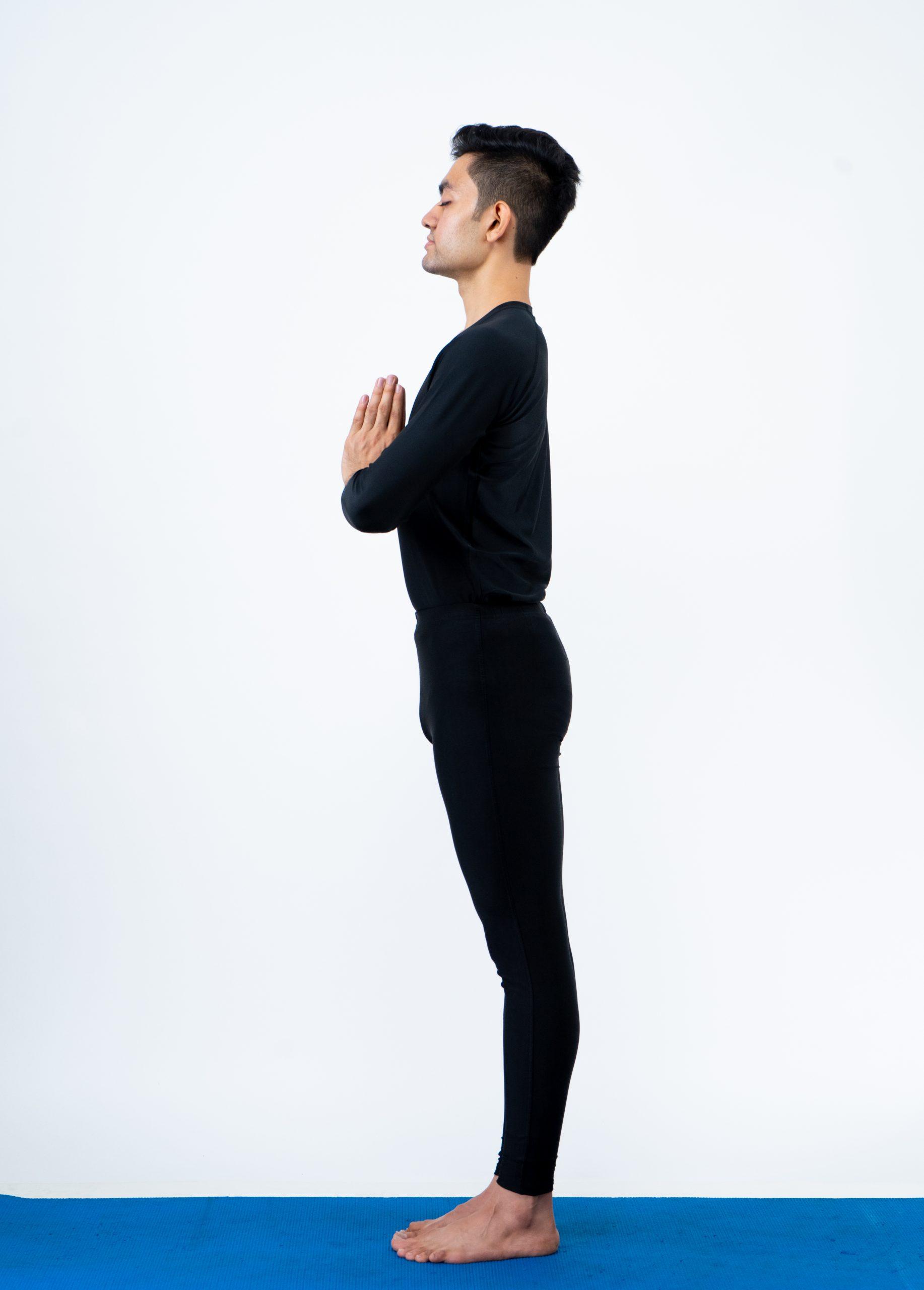 Pranamasana (Prayer pose)