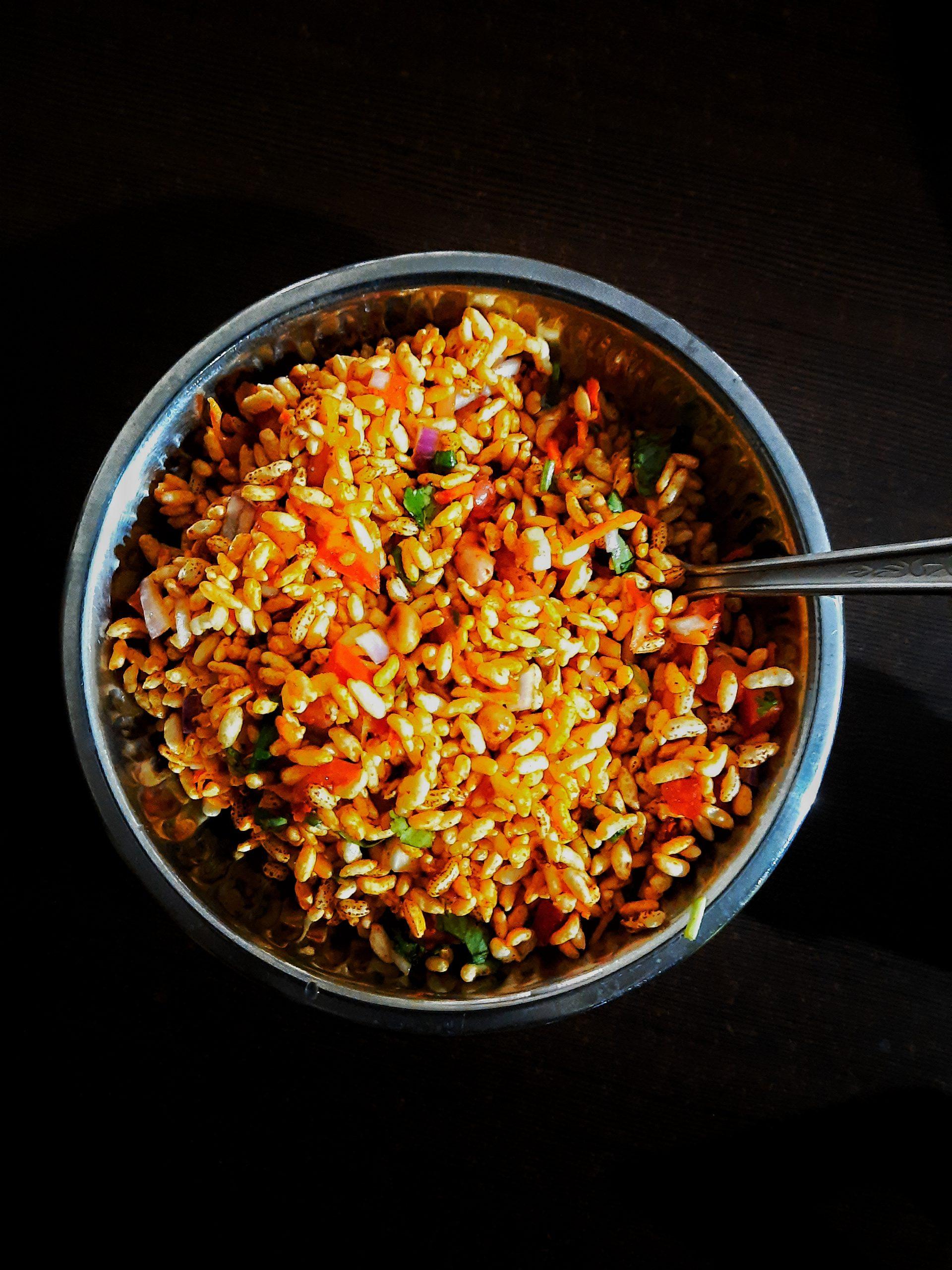 Snacks in bowl