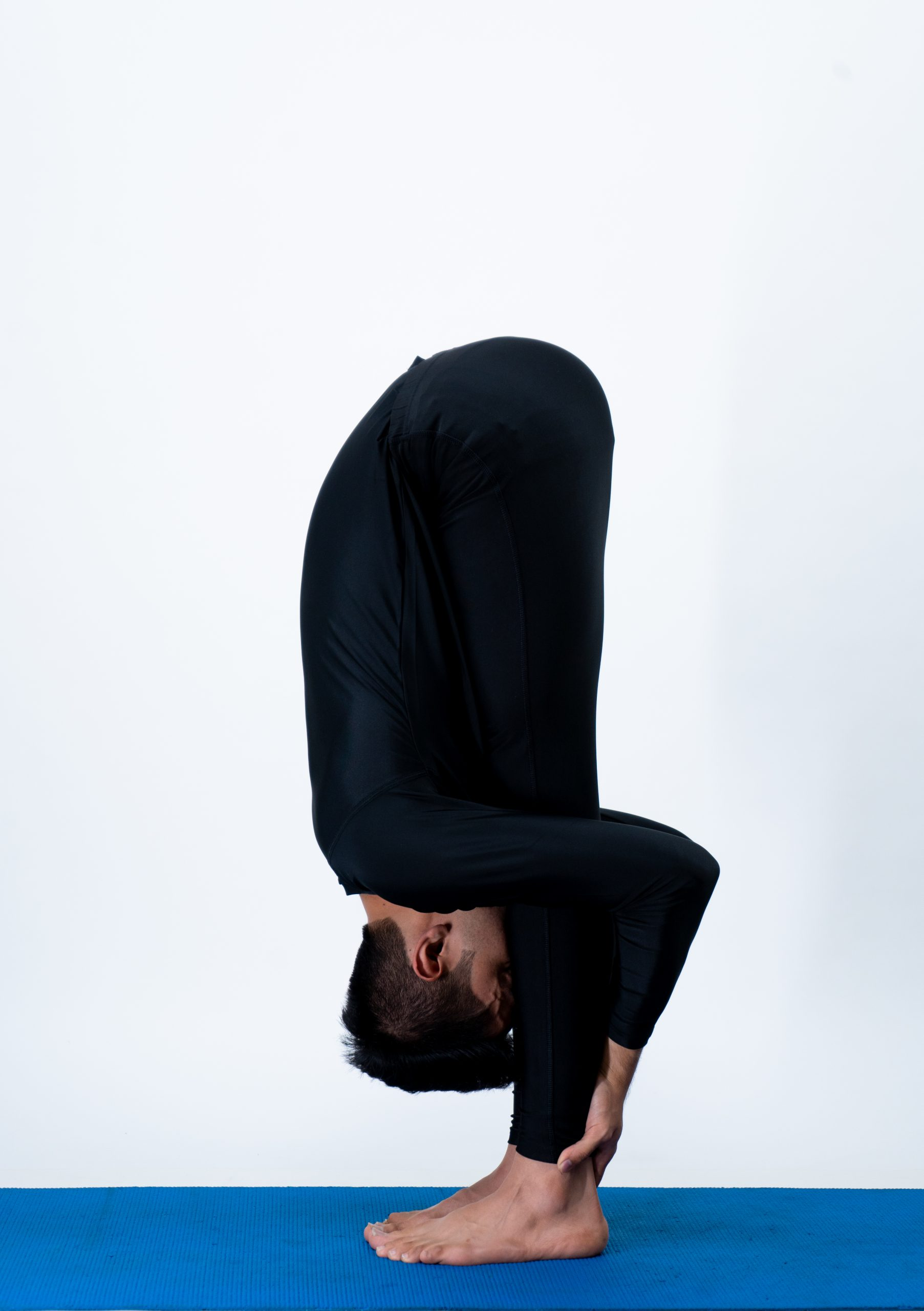 Uttanasana (Standing forward bend)