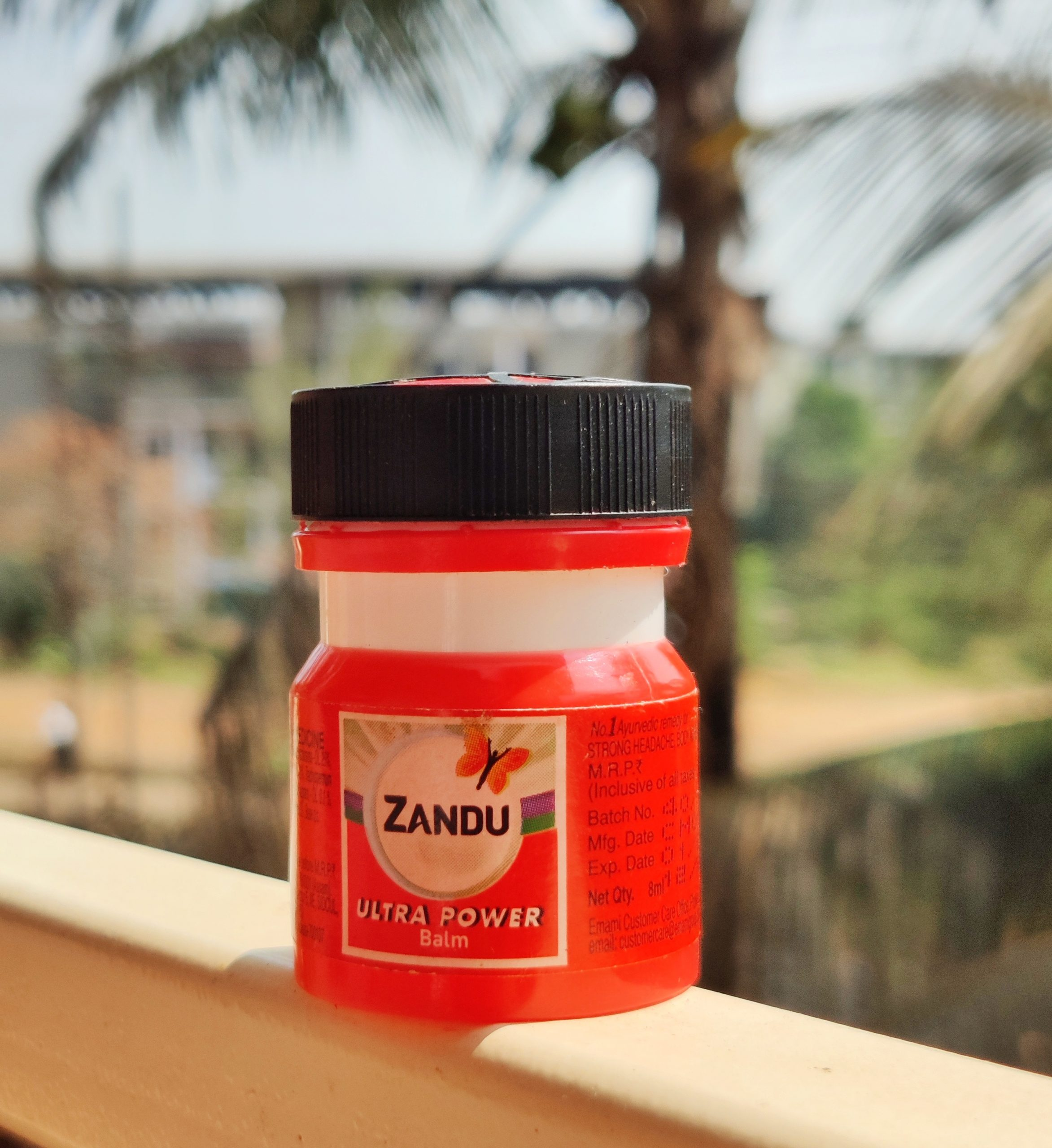 Zandu balm pain relief