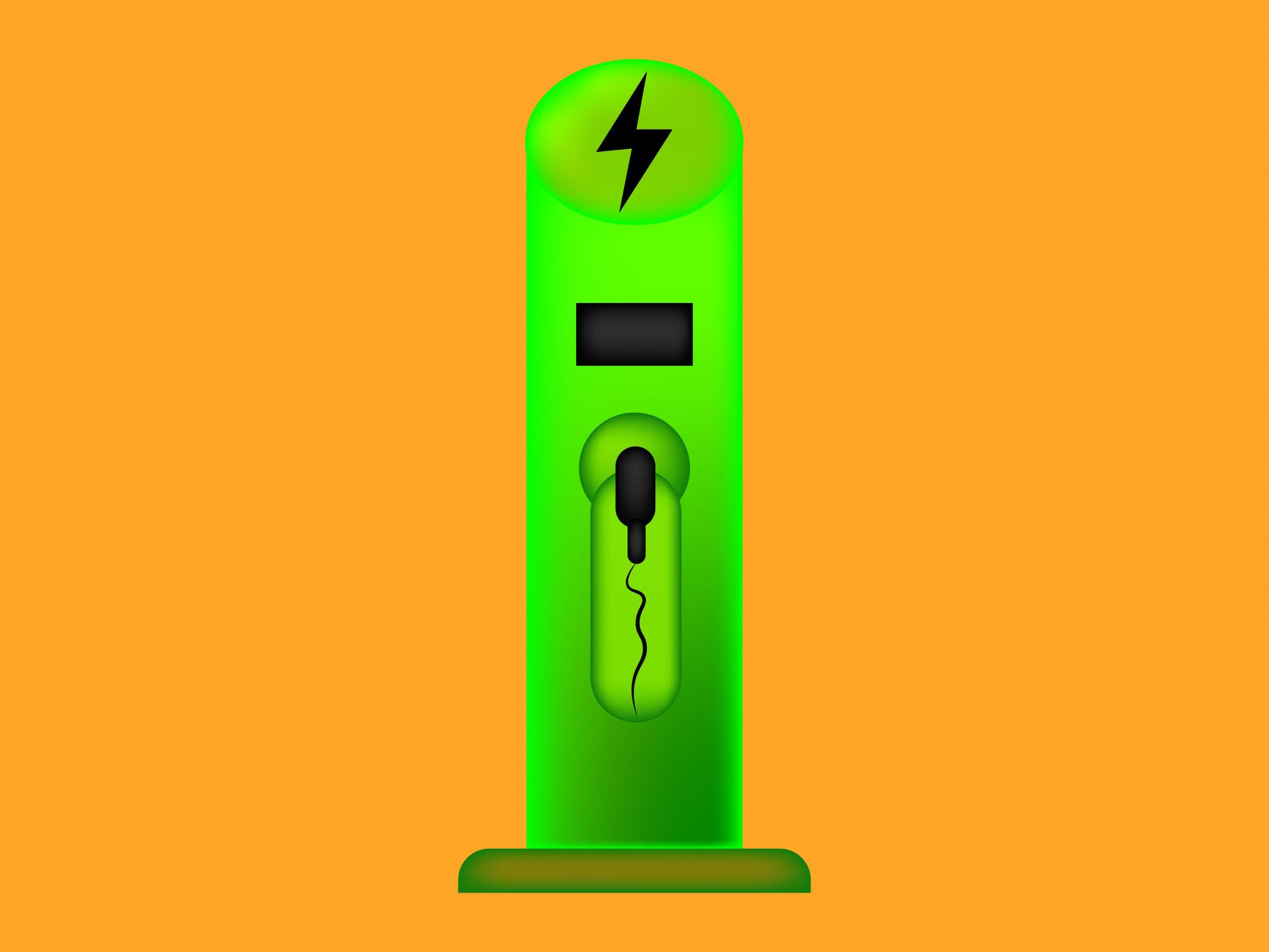 charging-station illustration