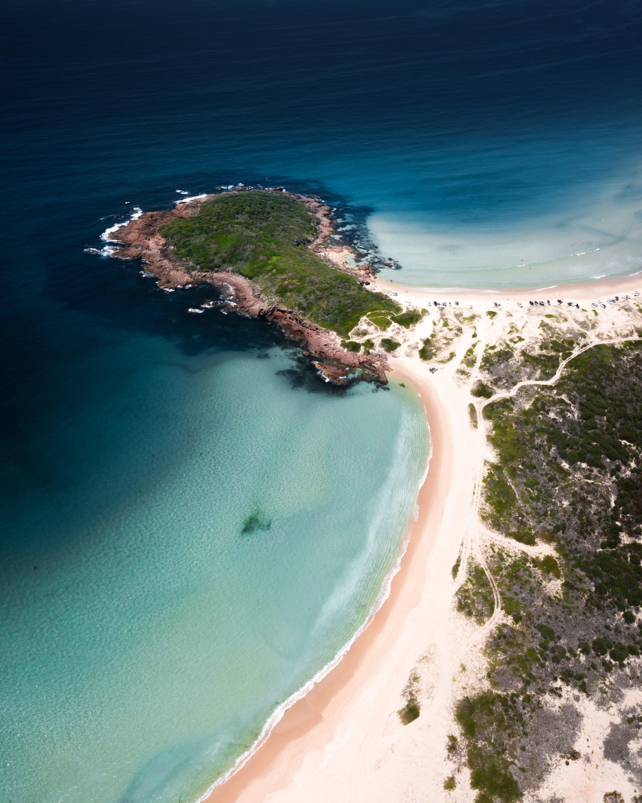 An island