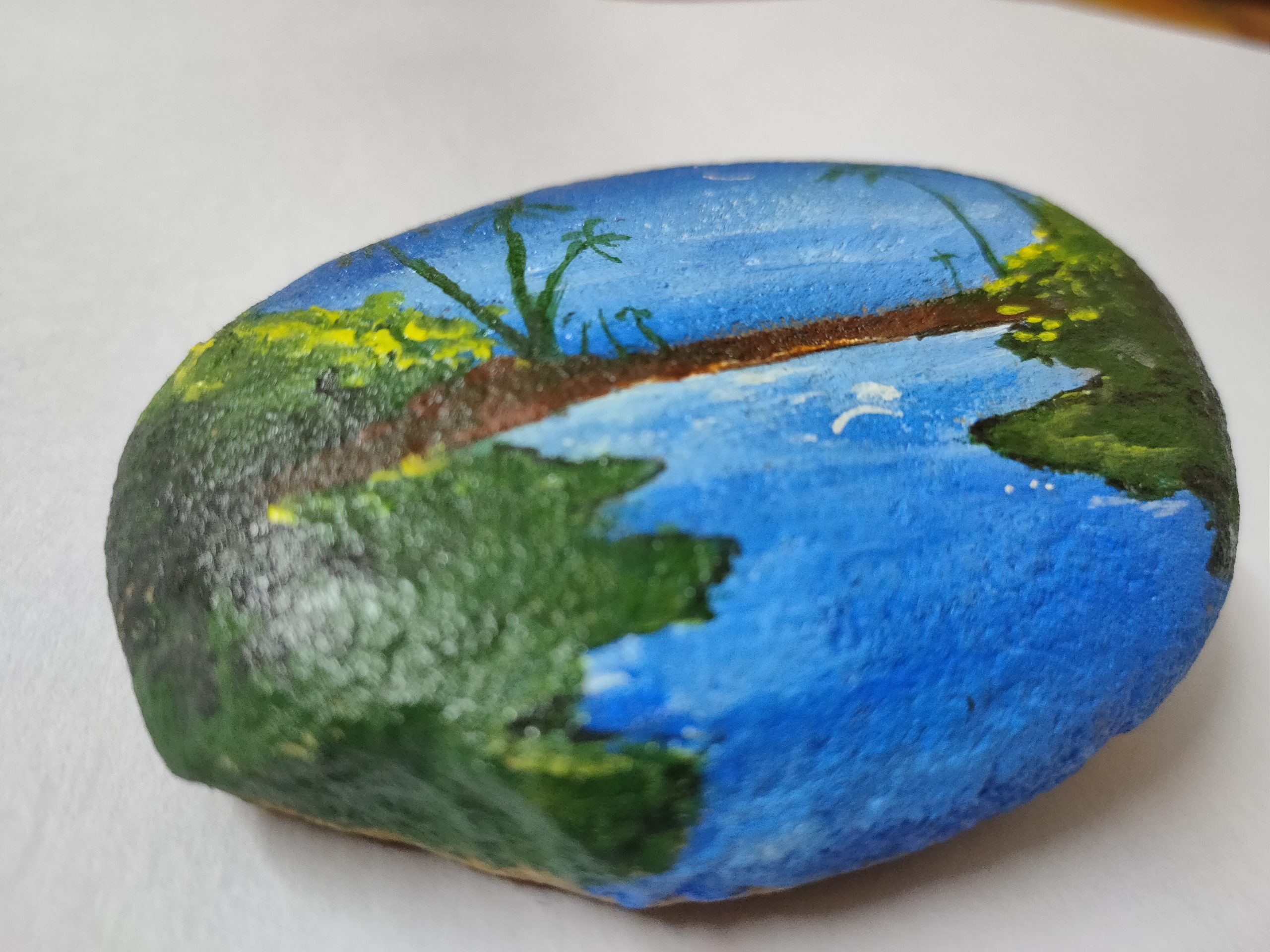painting on stone