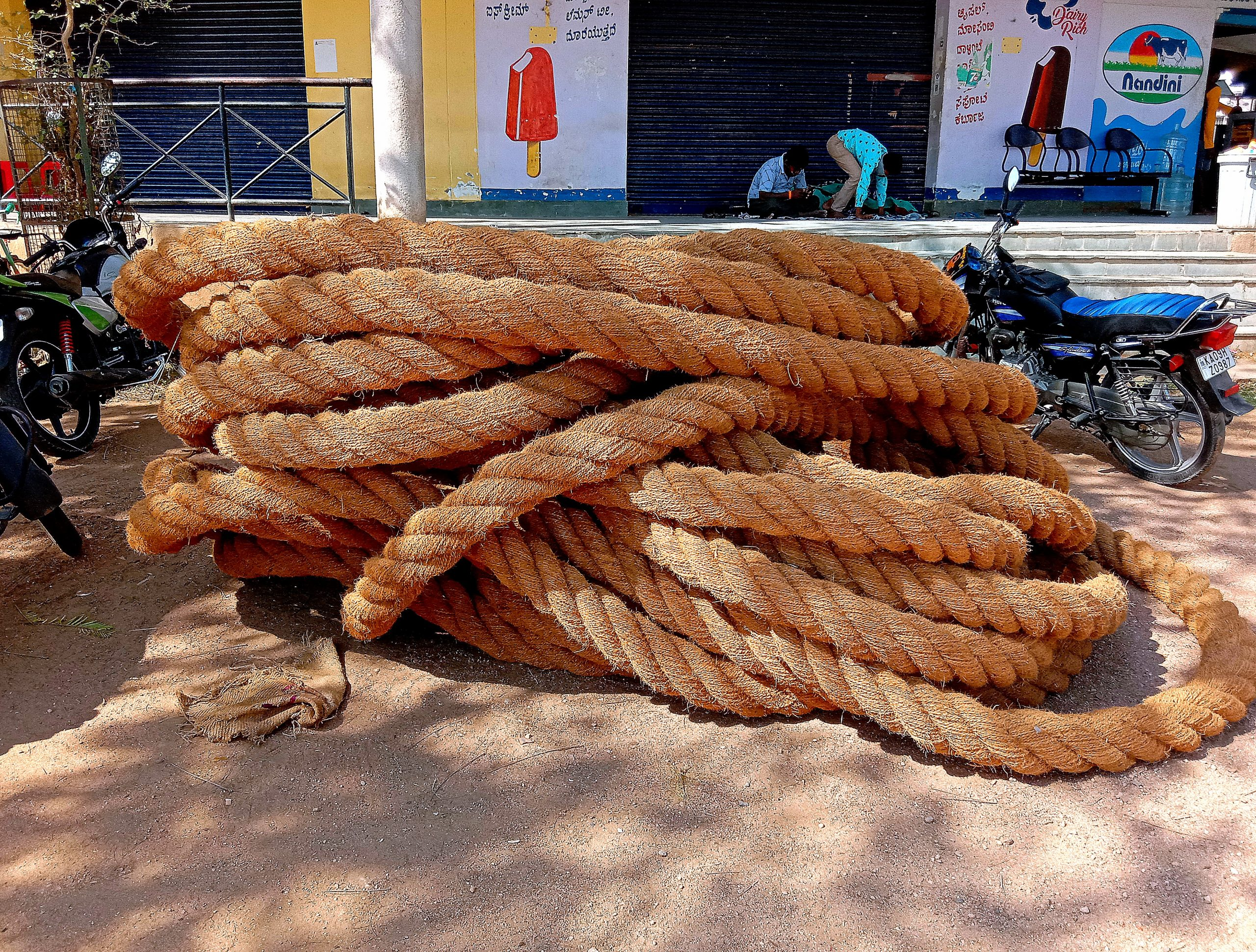A rope roll