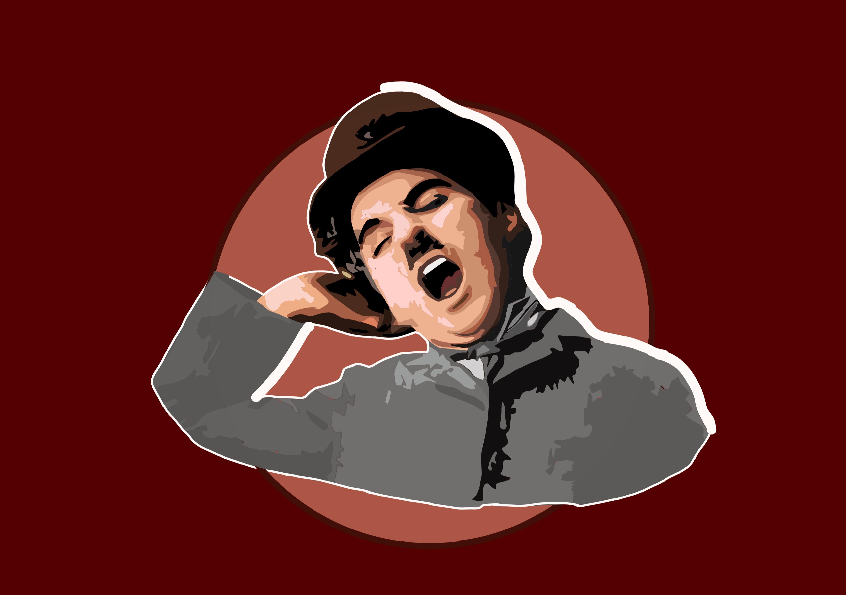 Illustration of Charlie Chaplin