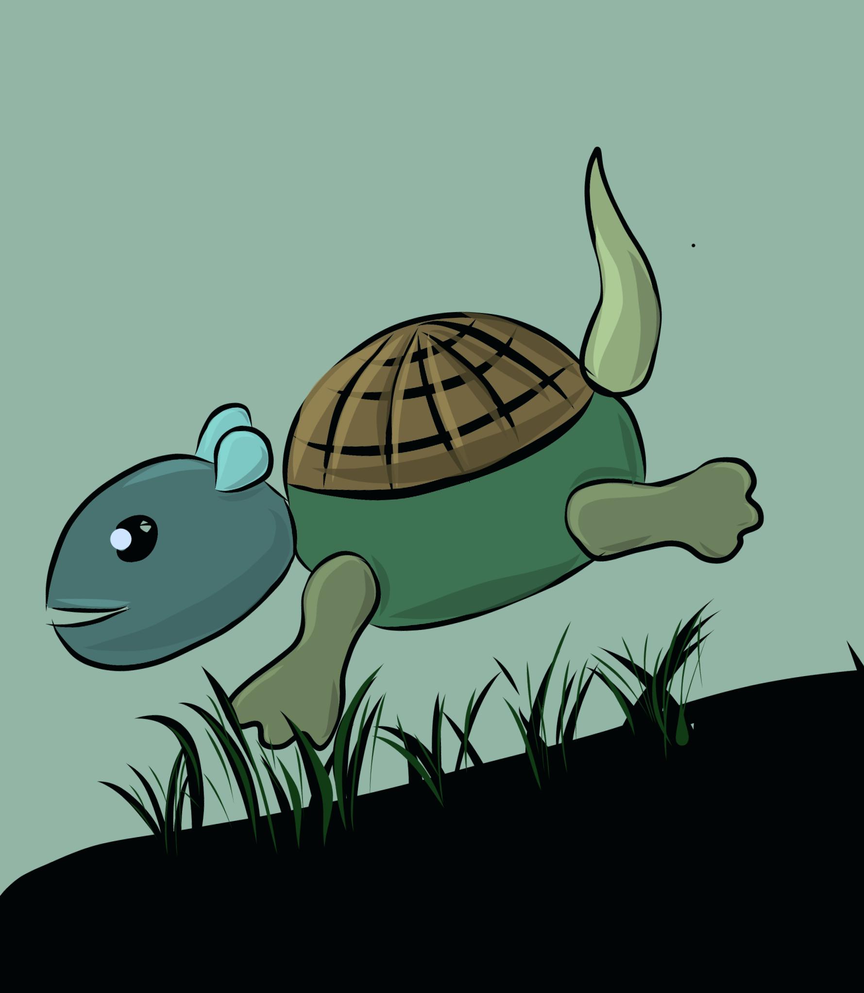 Illustration of a turtle