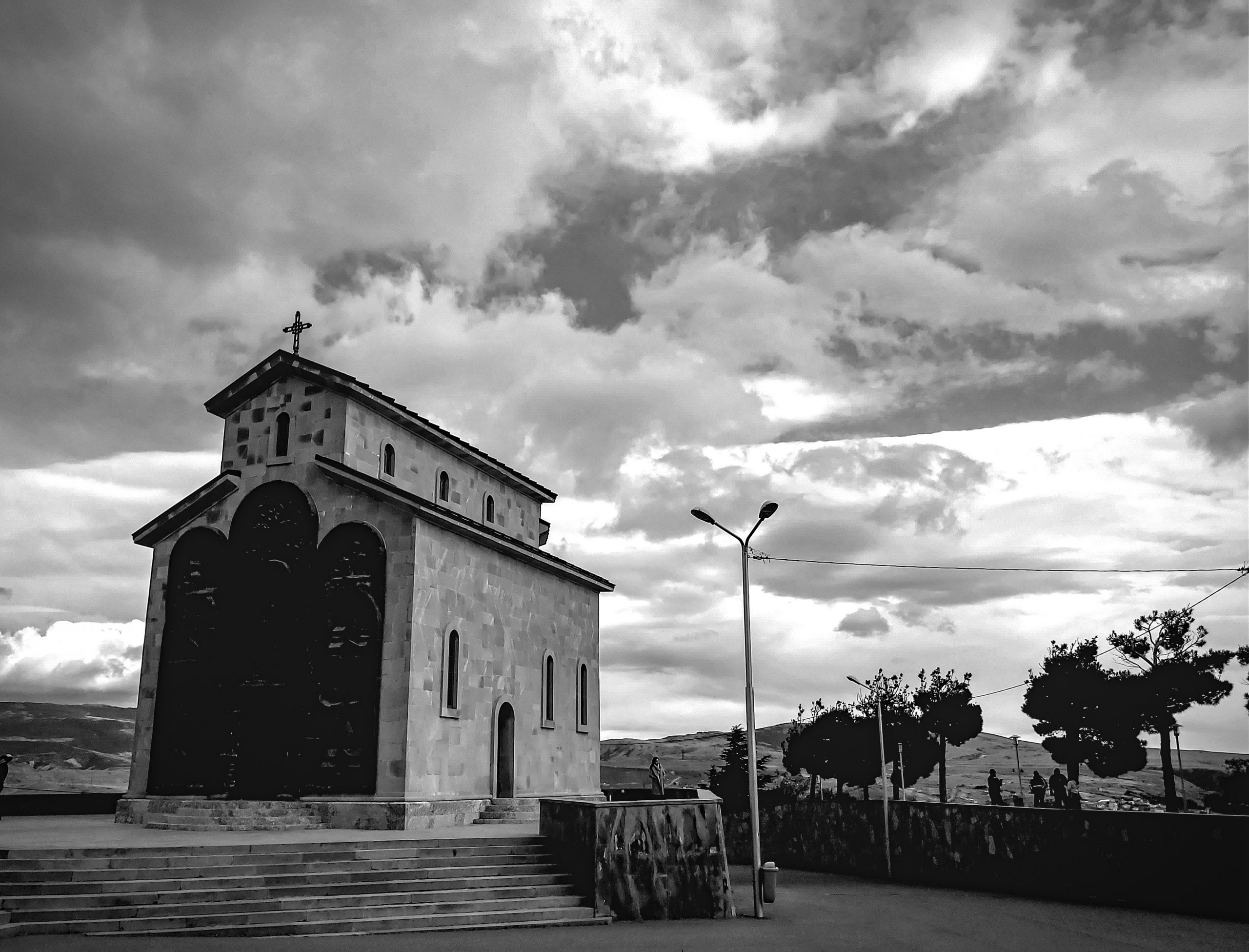 A Christian monastery