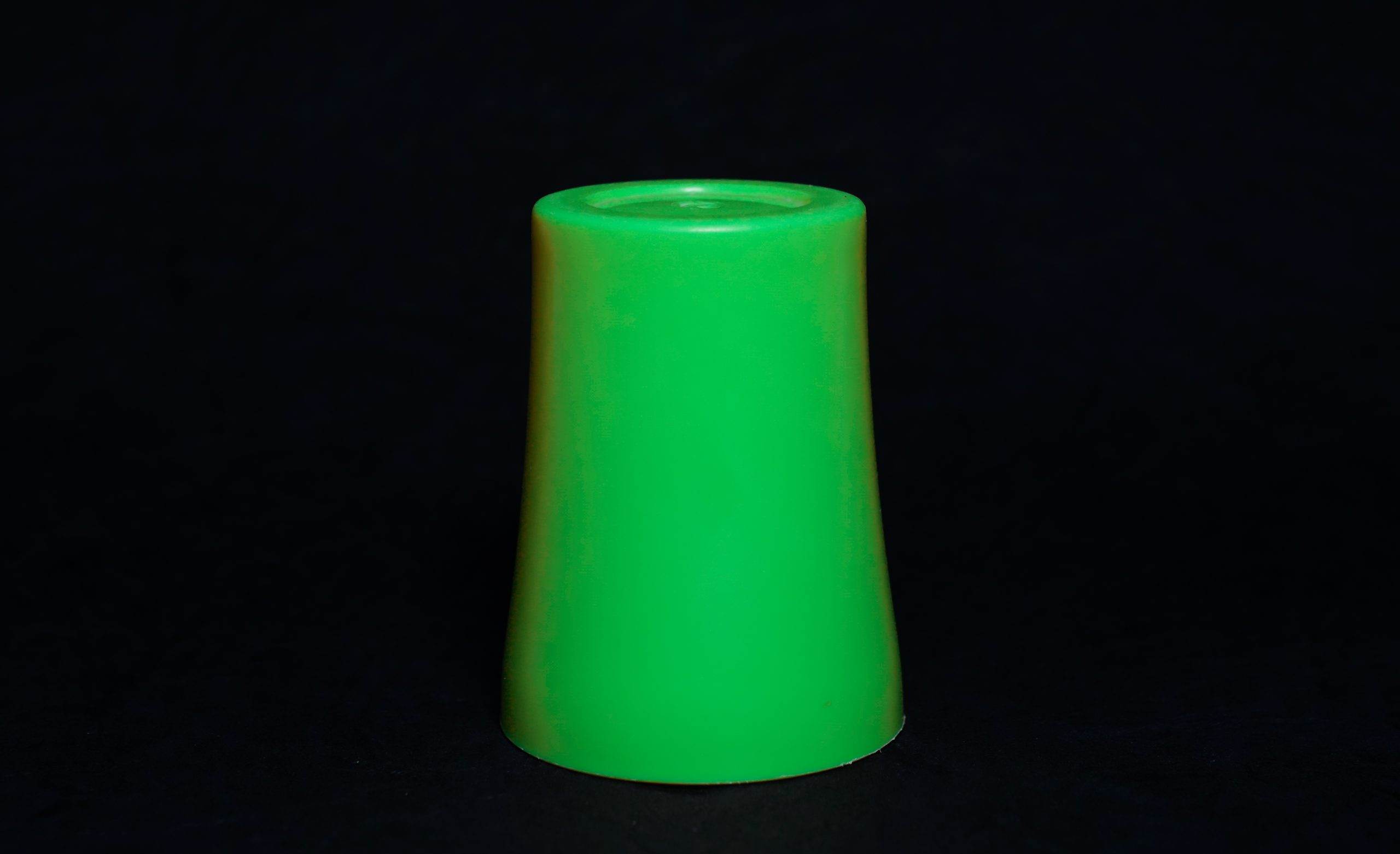 A bottom up plastic cup