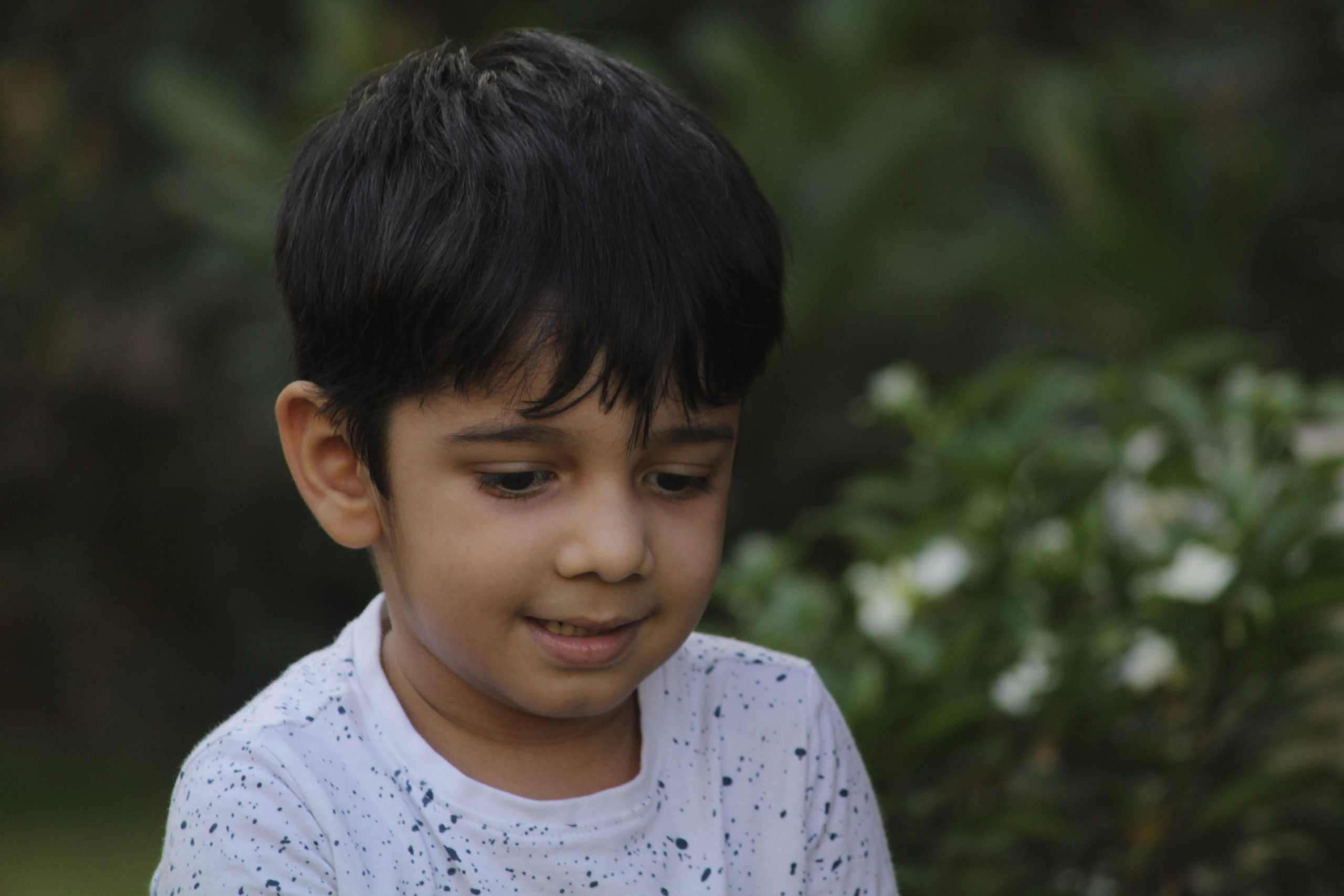 A cute kid
