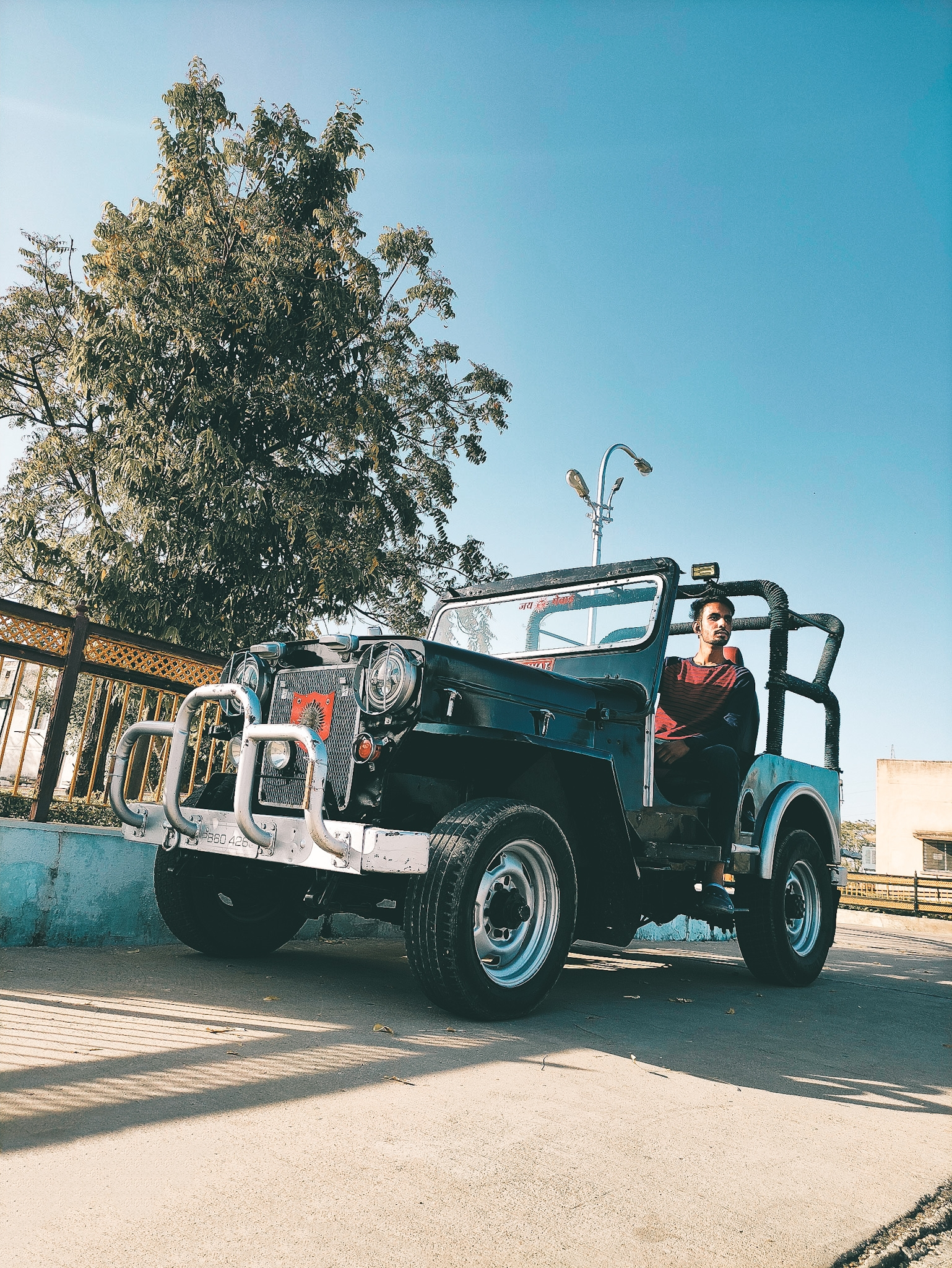 A jeep vehicle