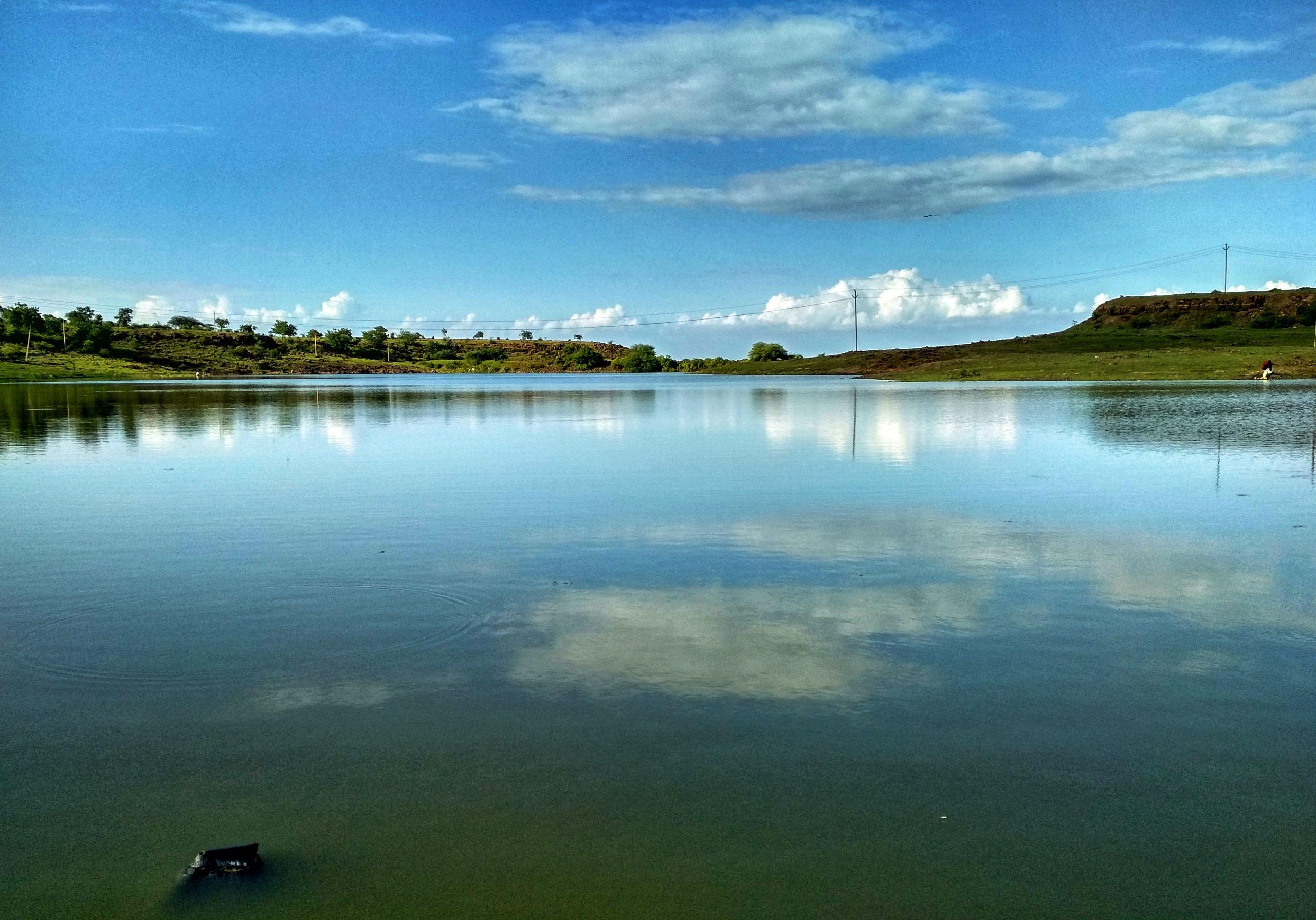 A lake water