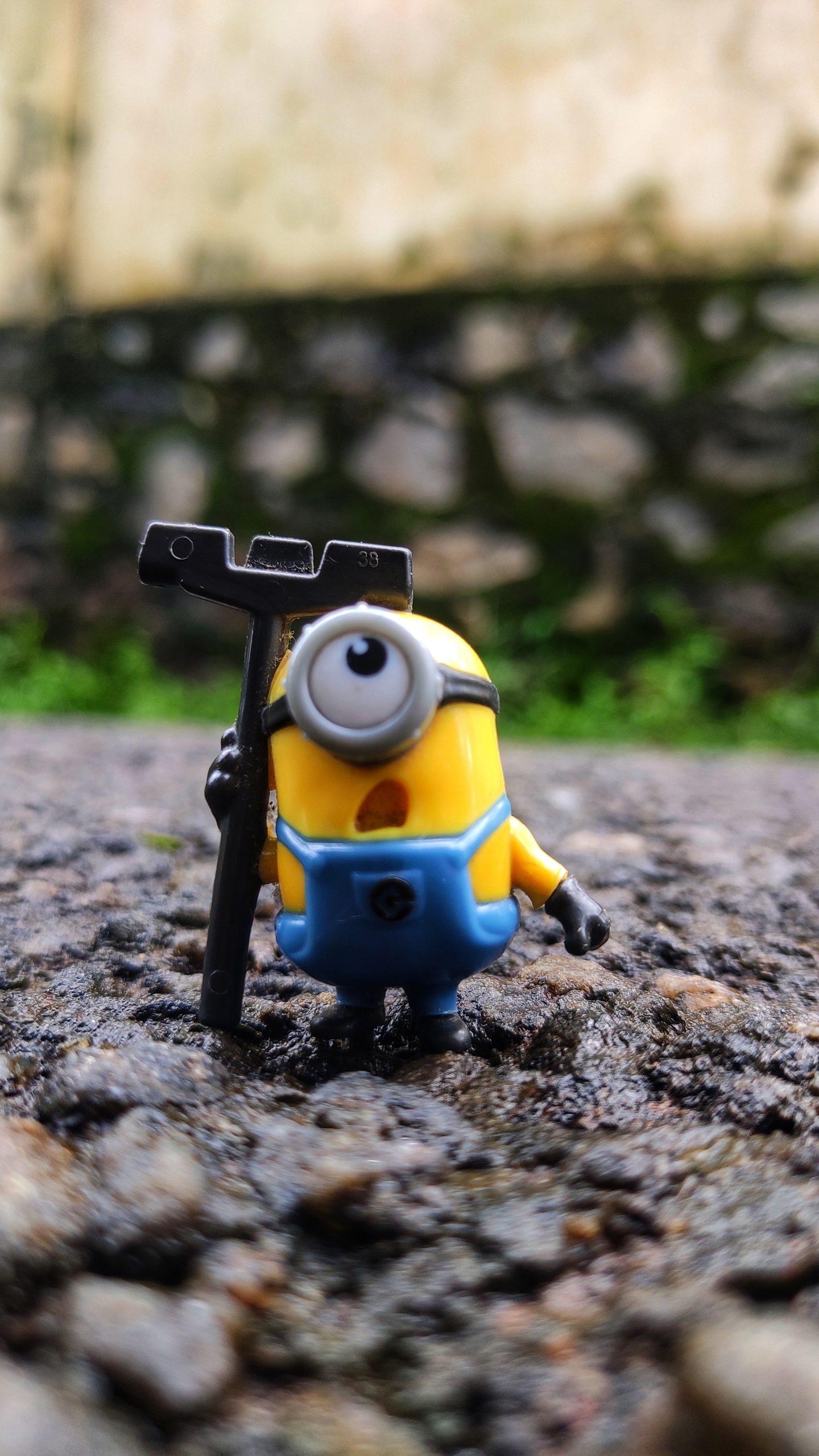 A minion toy