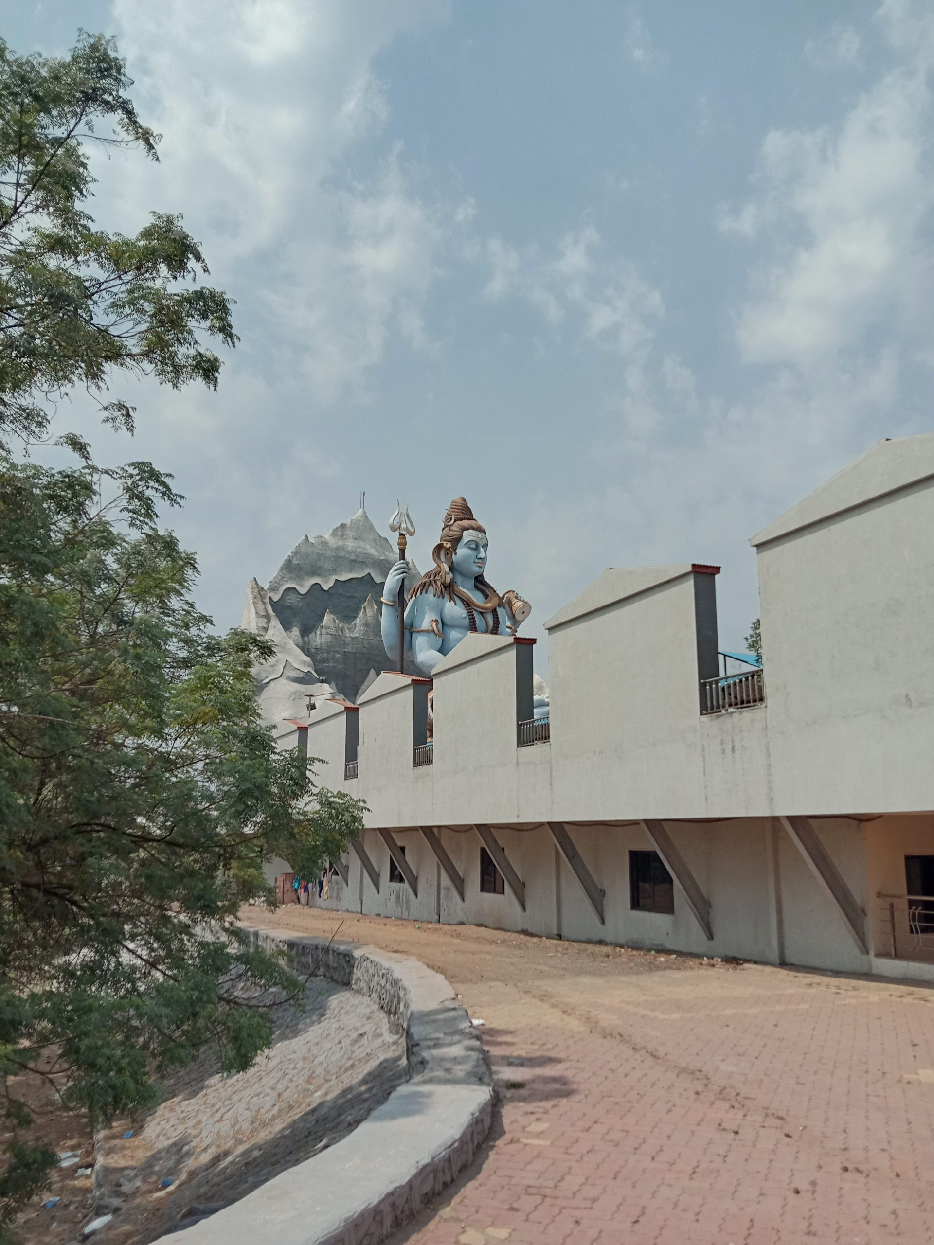 A statue of Lord Shiva