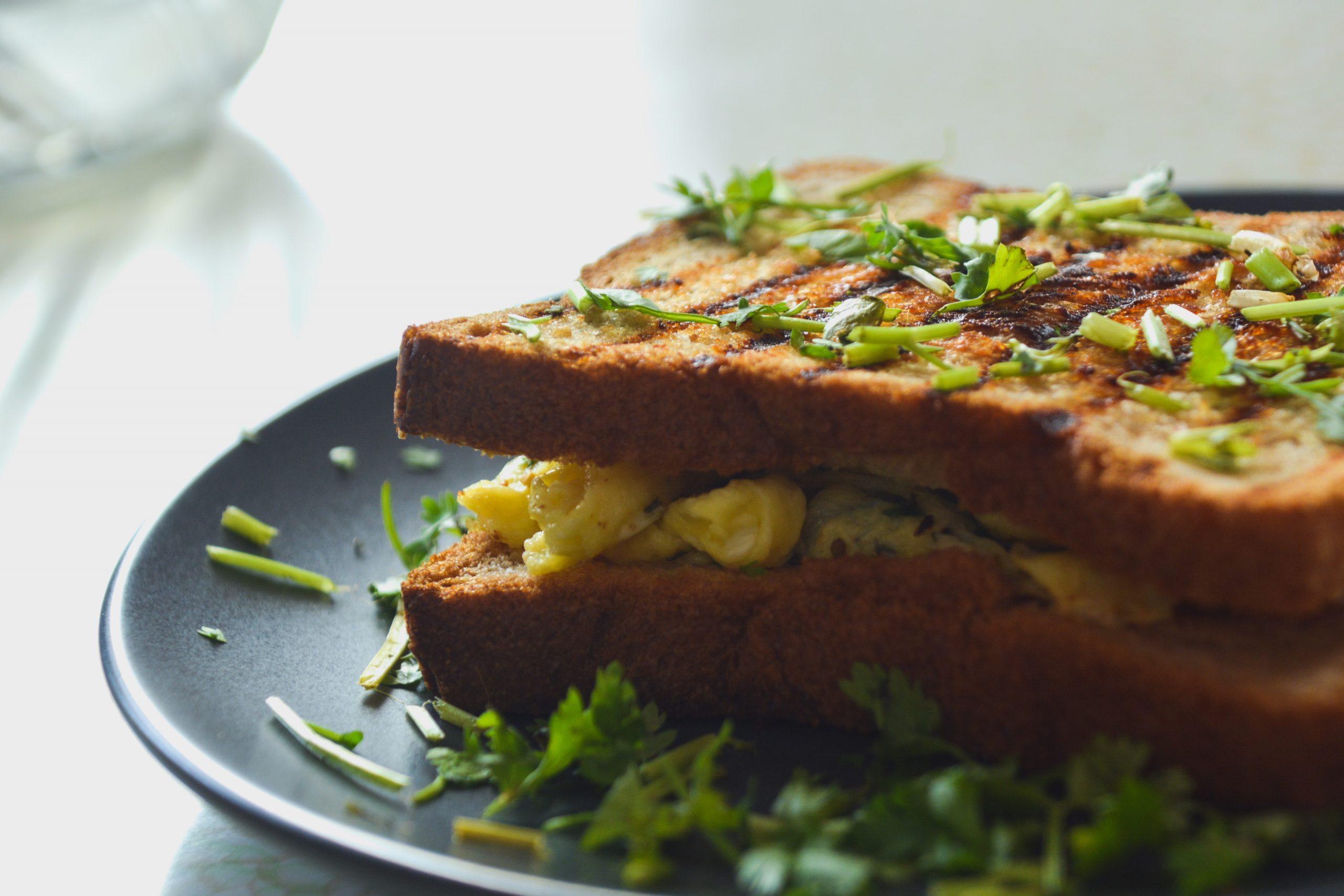 A veg sandwich