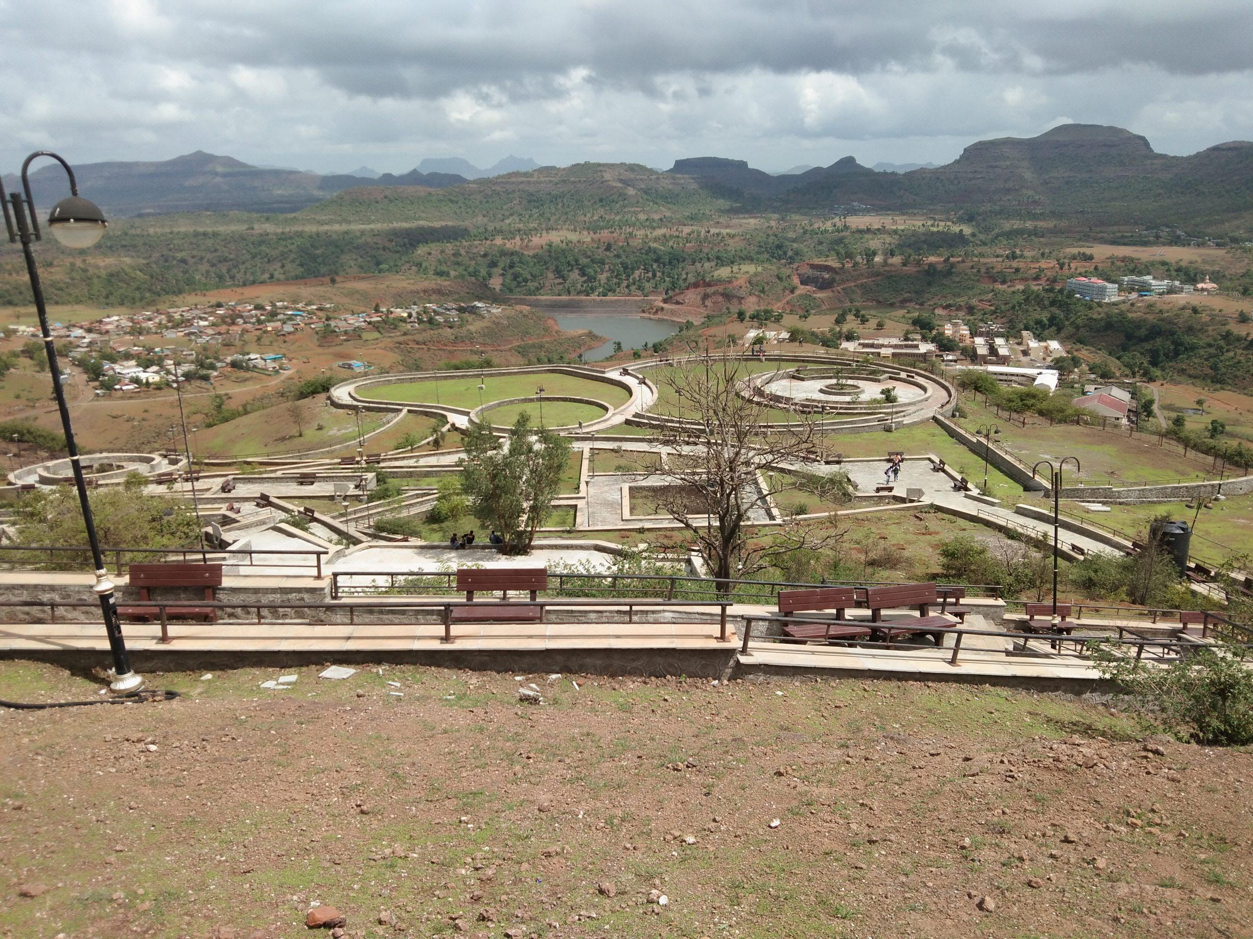 A view of a park