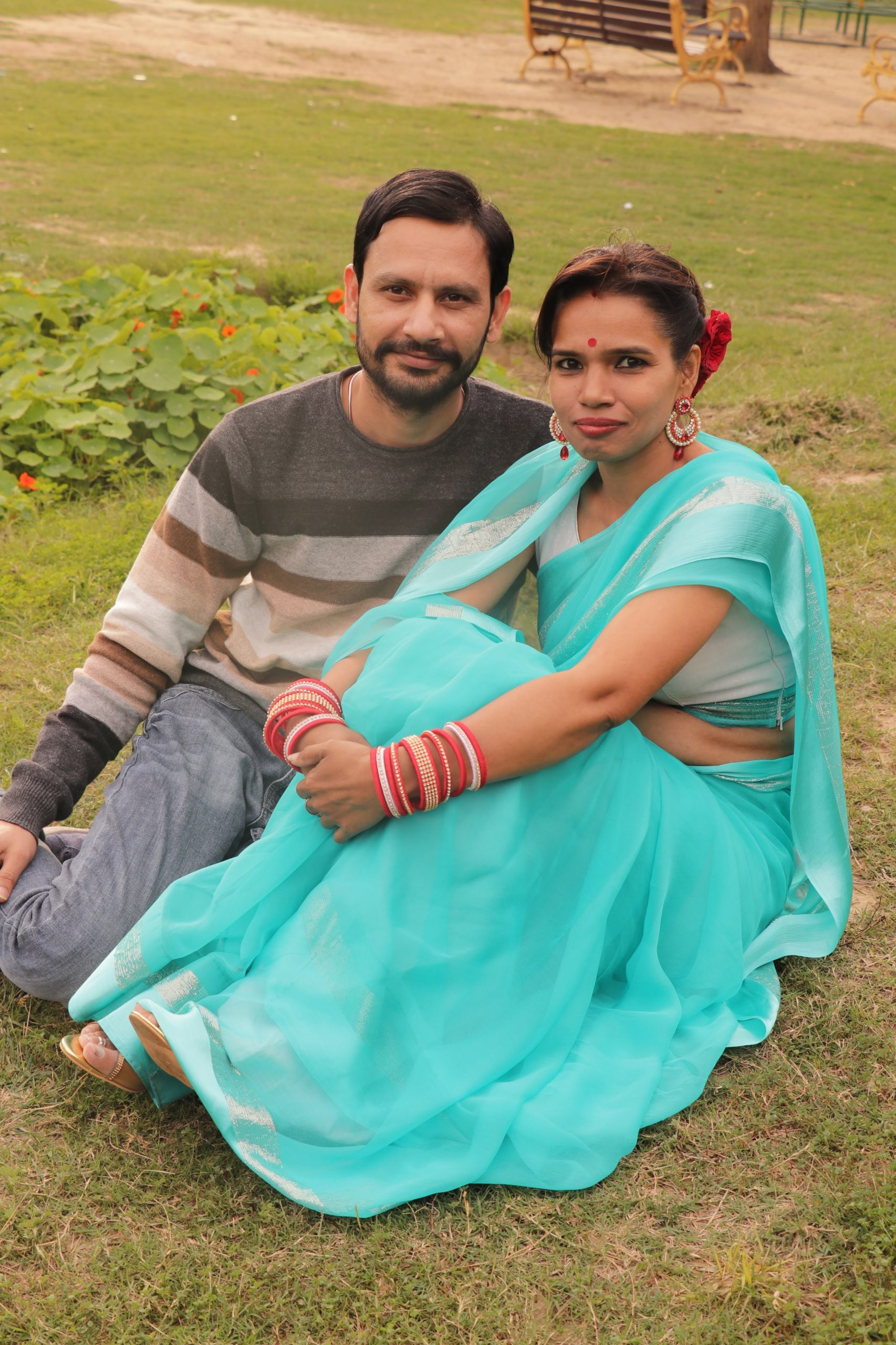 An Indian couple