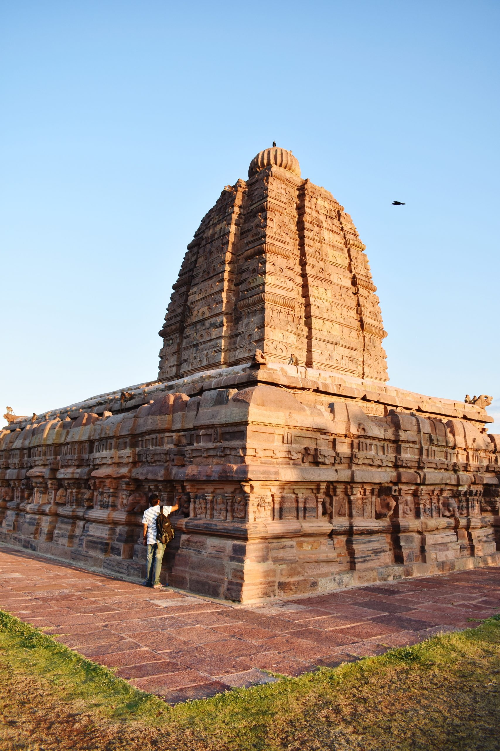 An ancient Indian temple