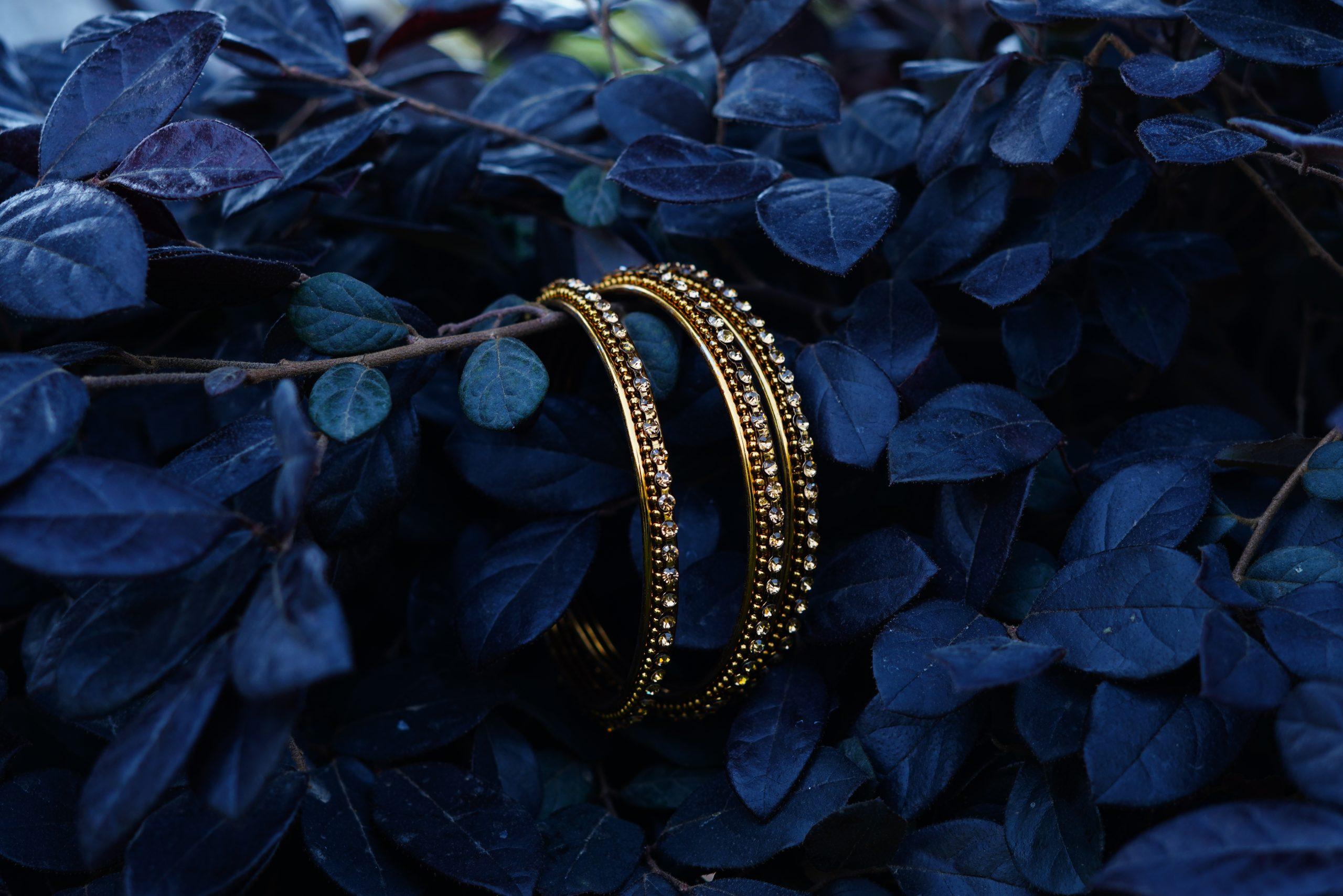 Artificial Golden Bangles