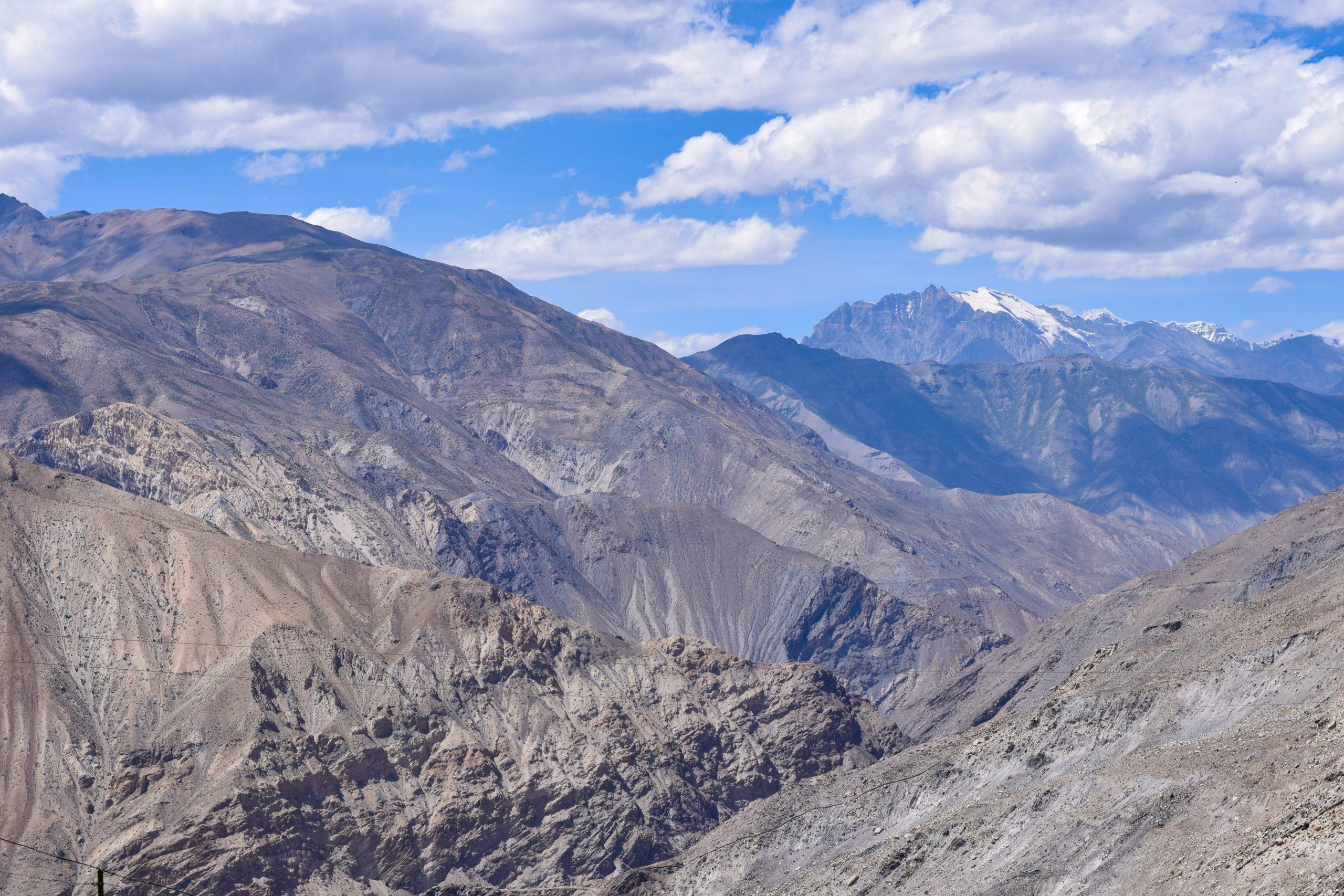 Barren mountains of Kinnaur
