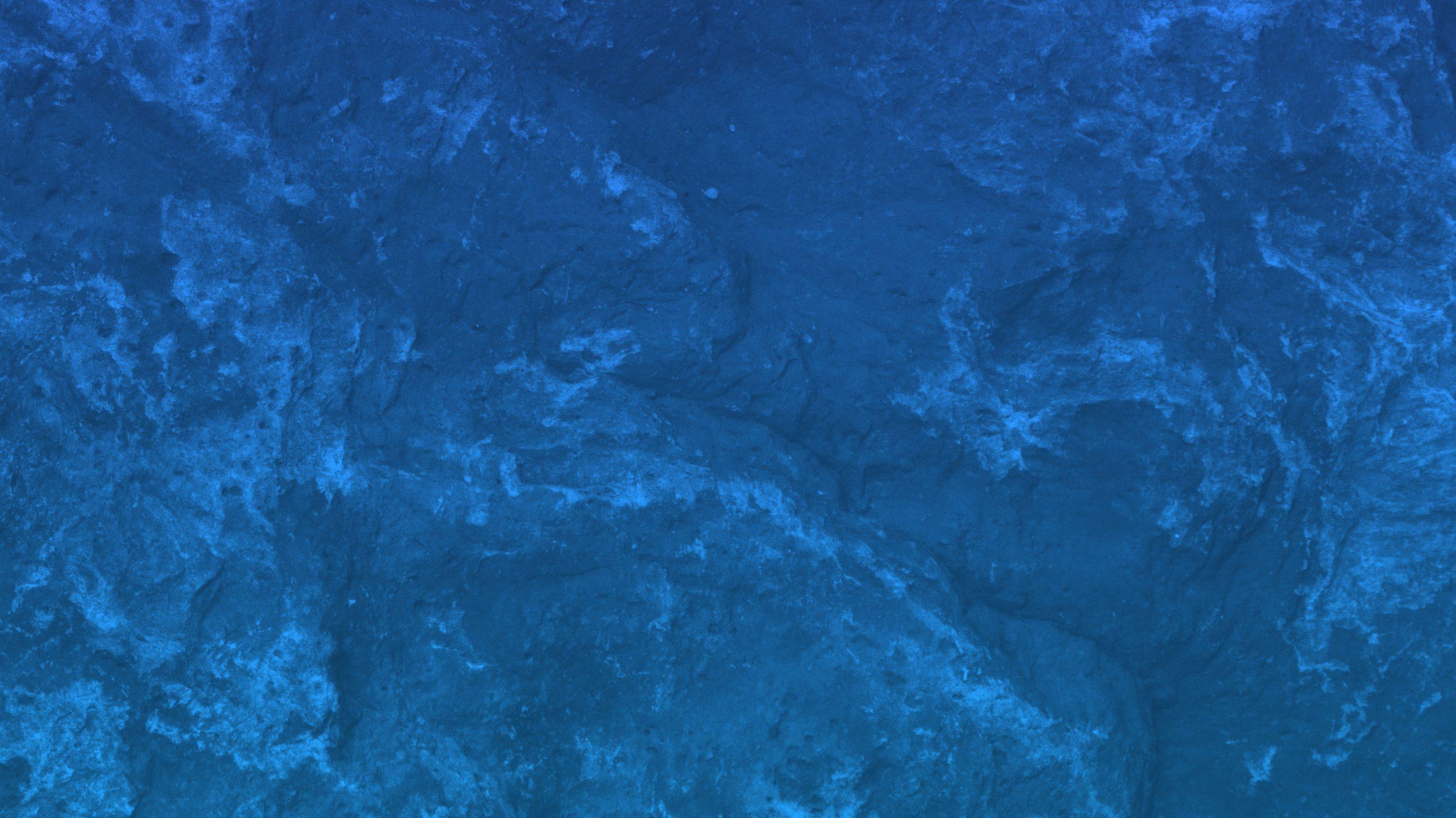 Blue rock surface wallpaper