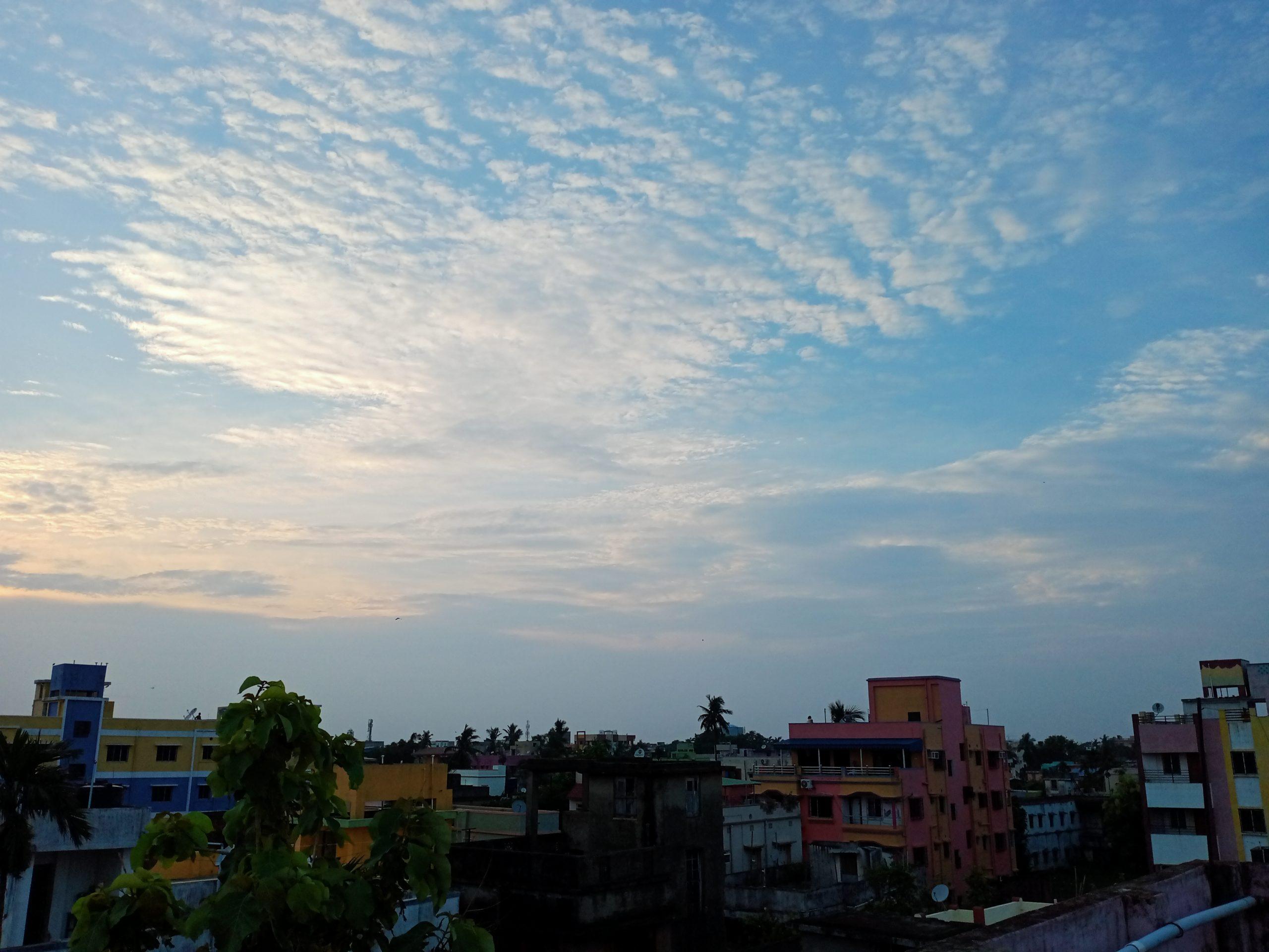 Buildings under the open sky