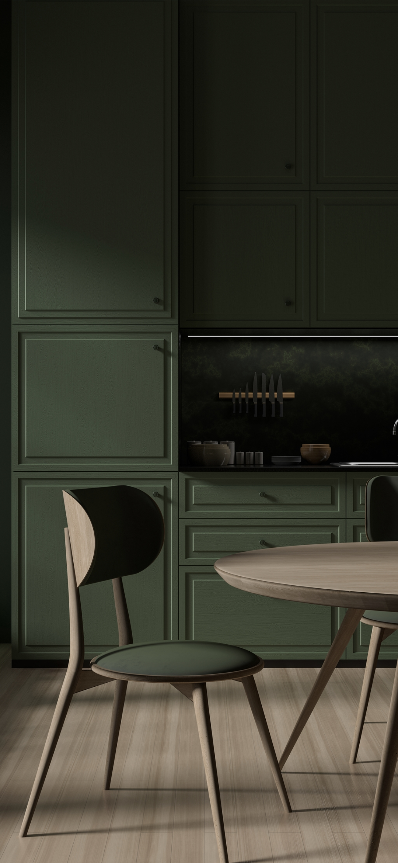 Green textured furniture