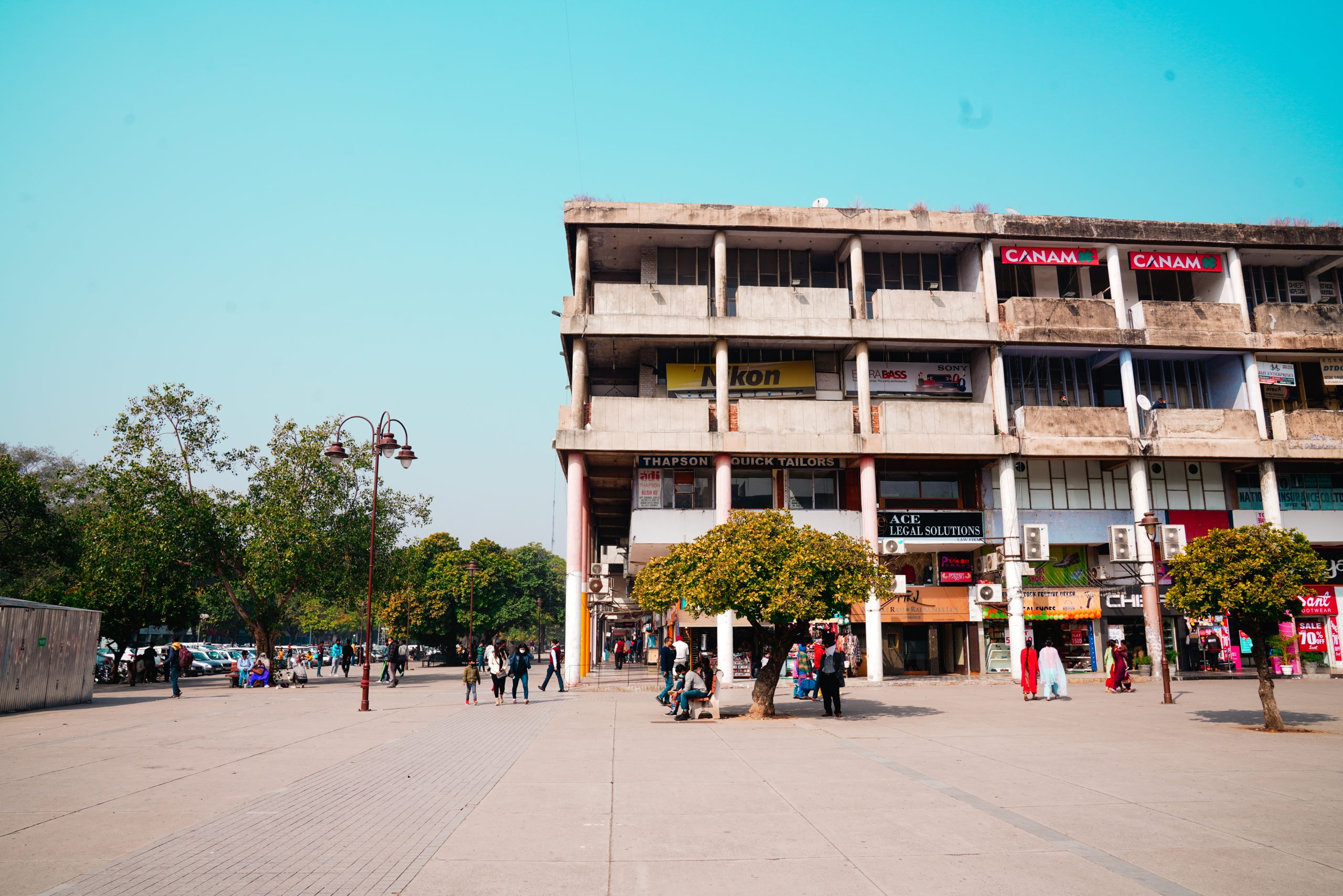 Chandigarh Sector-17 plaza