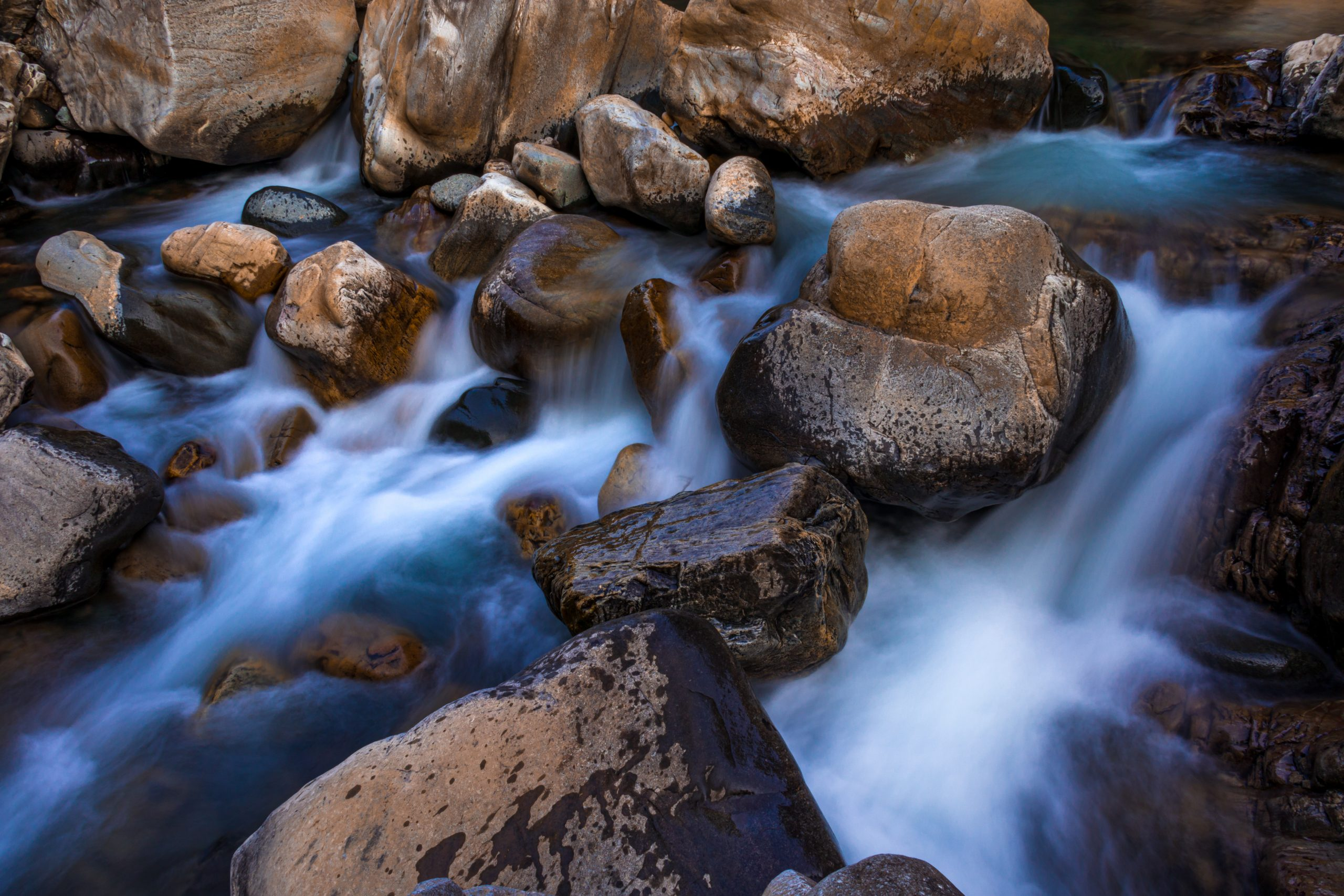 Clean Water in the river
