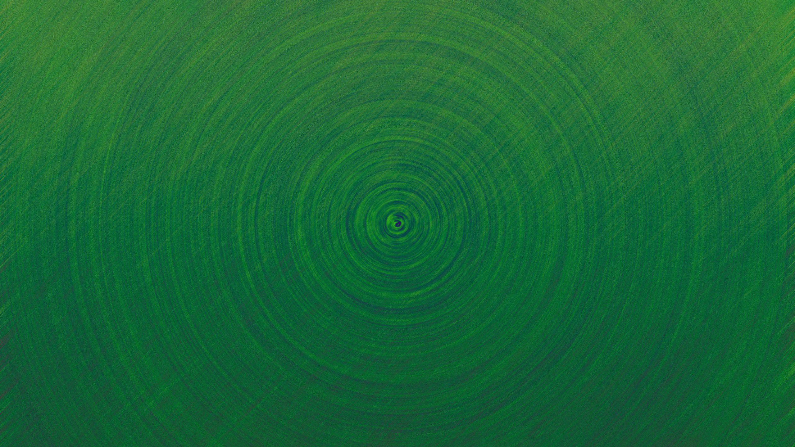 Dark green circles wallpaper