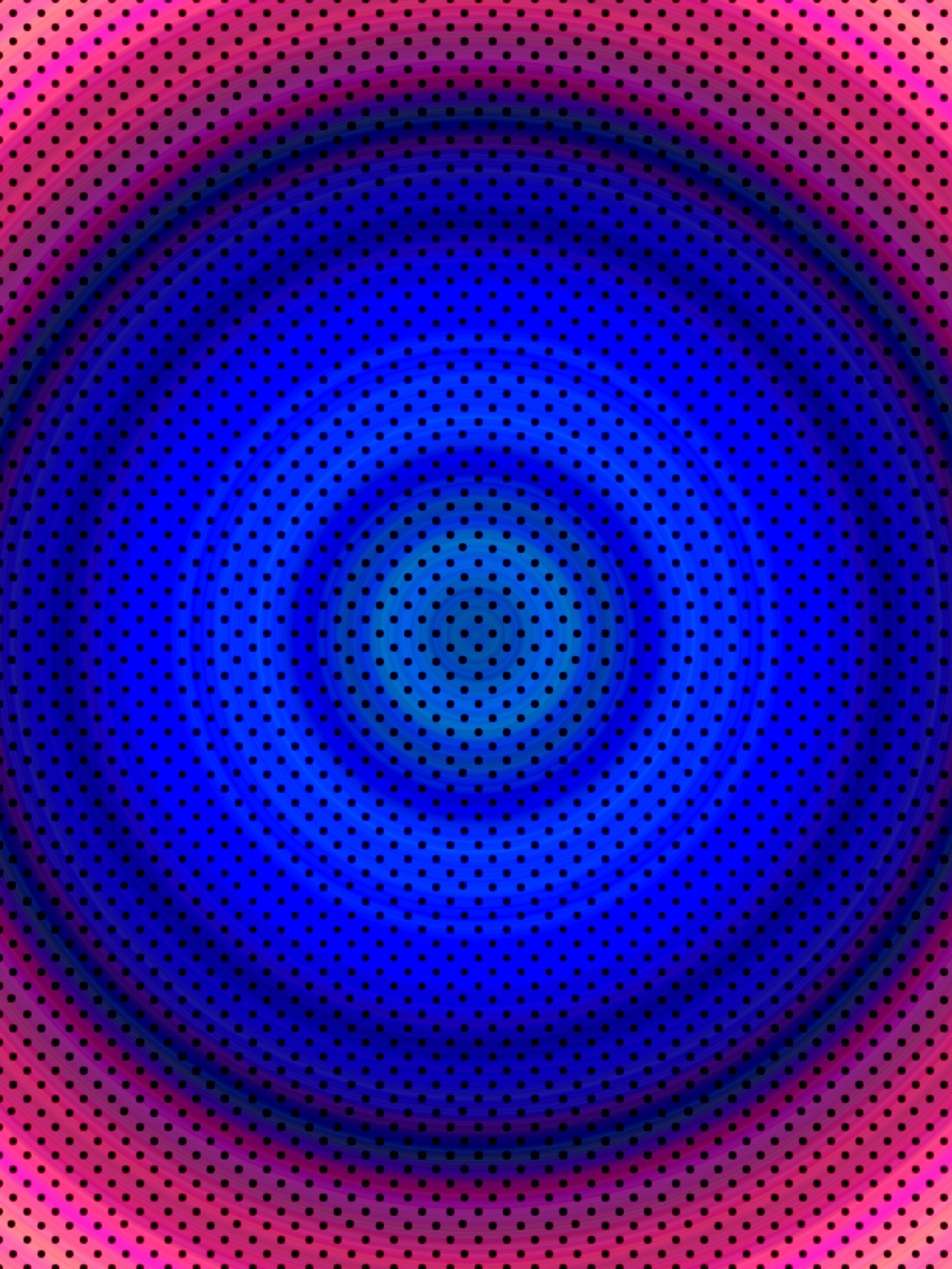 Dotted circular design