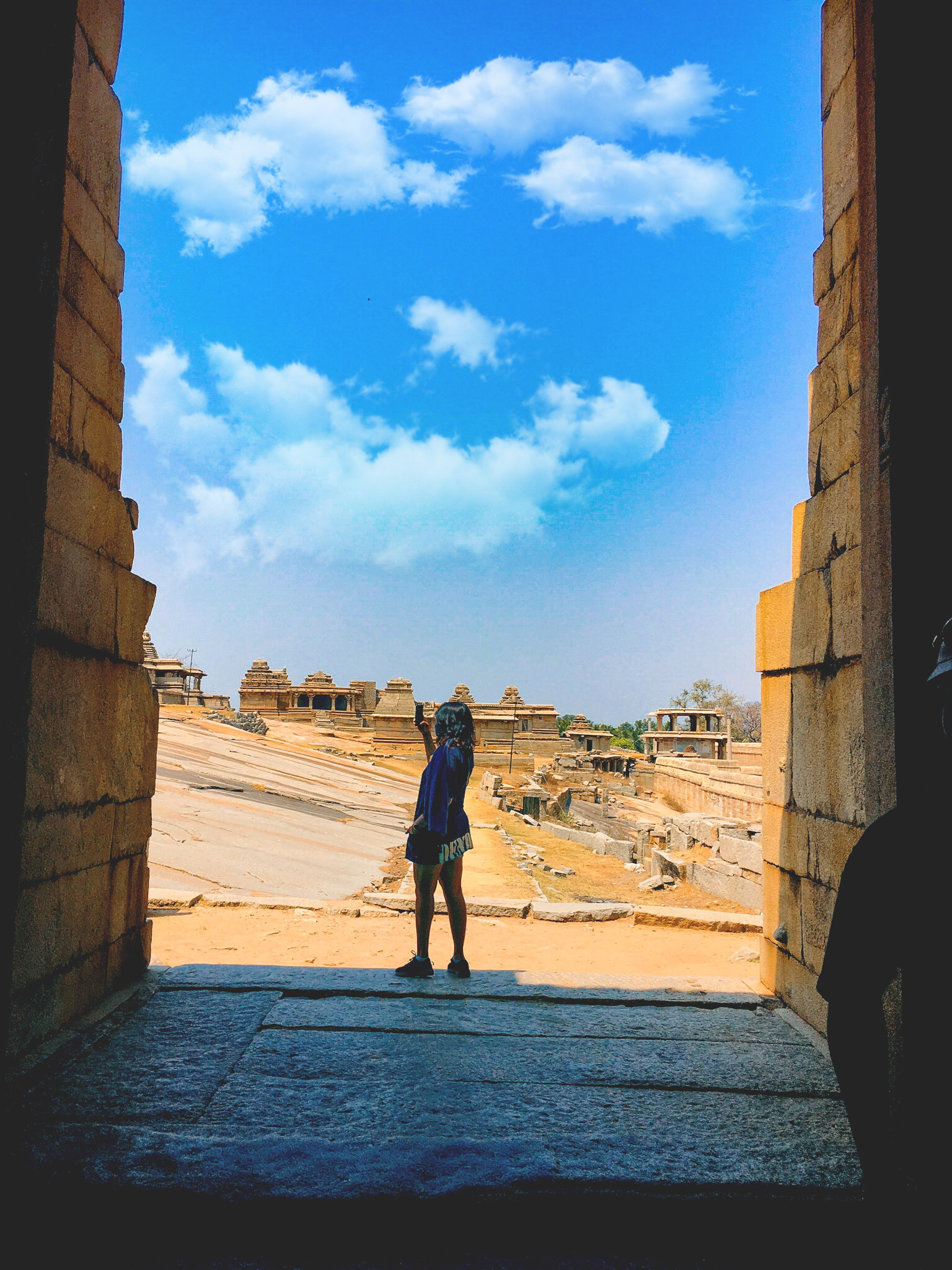 Girl in the fort