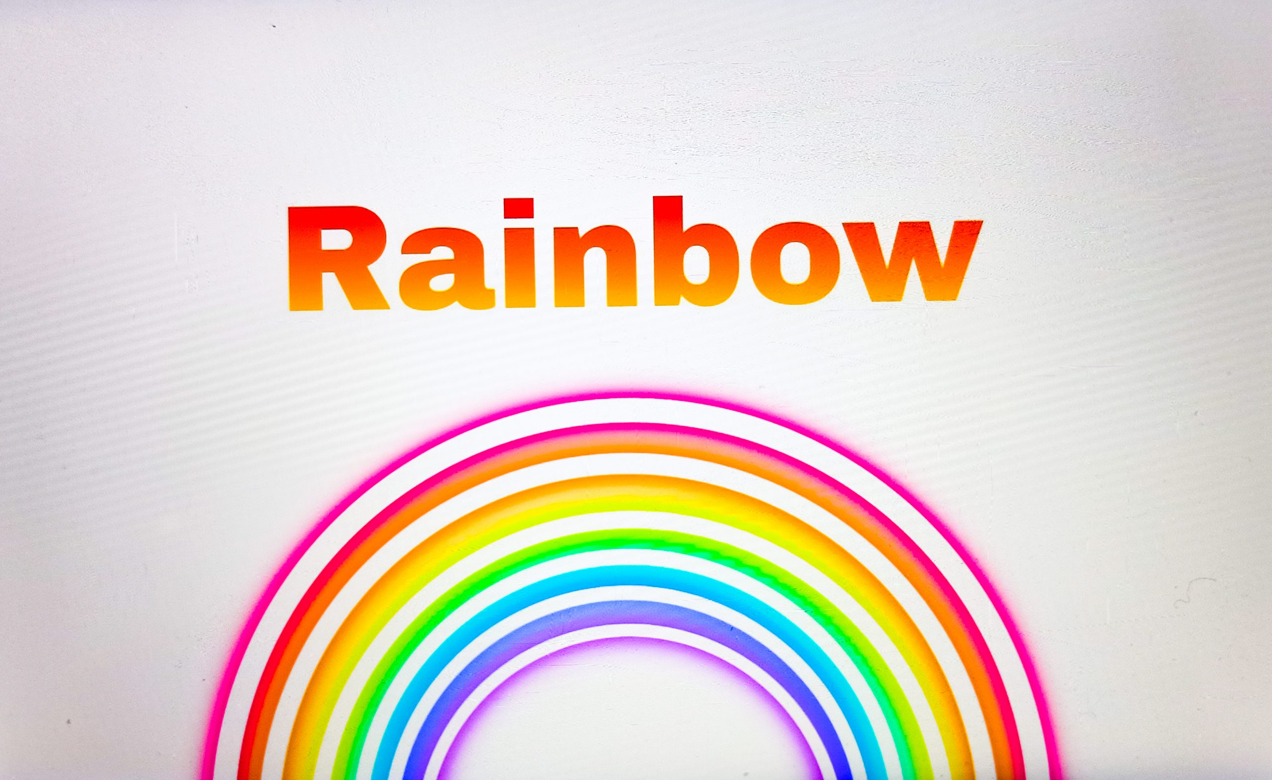 Rainbow illustrations