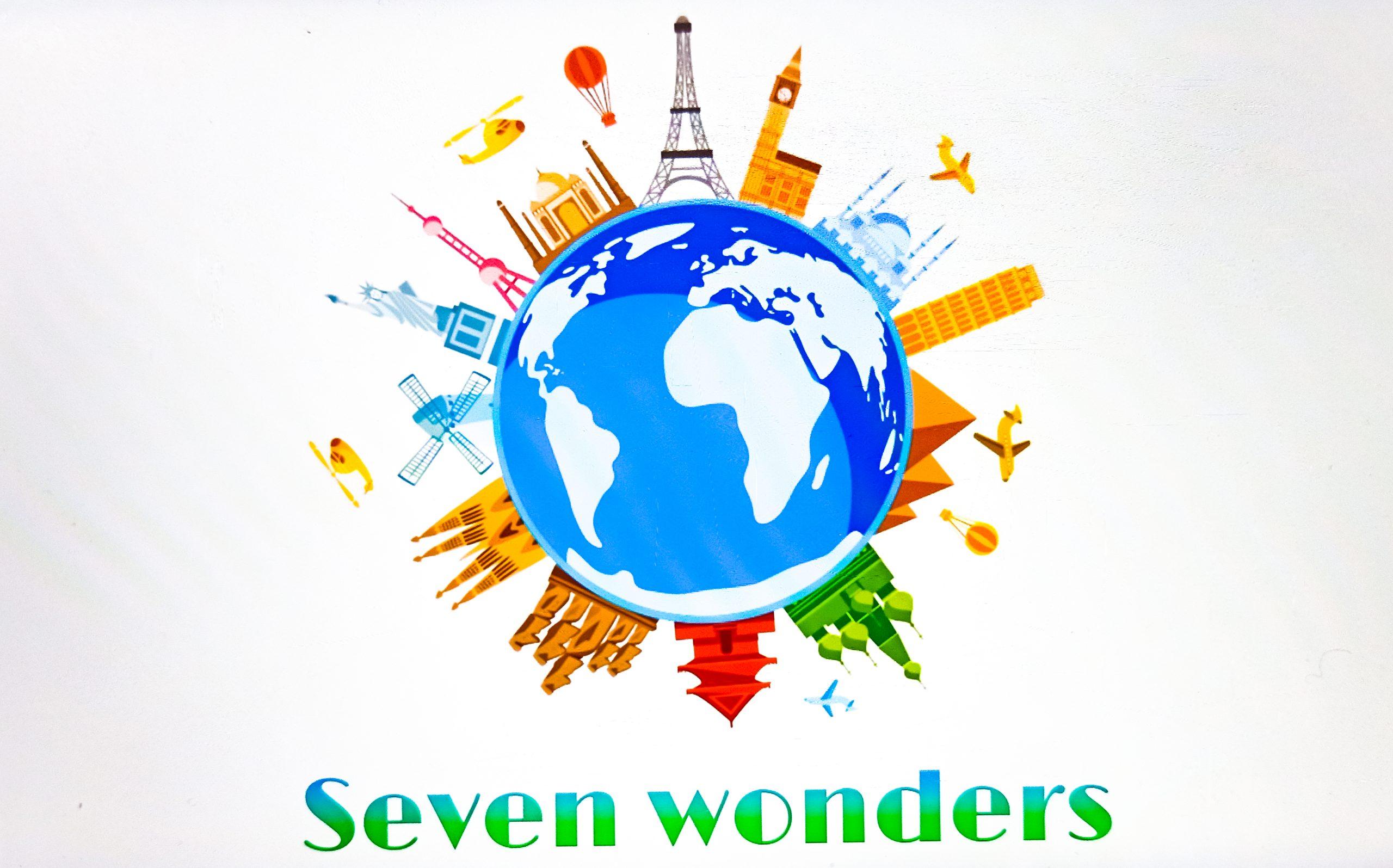 Seven Wonders Illustration