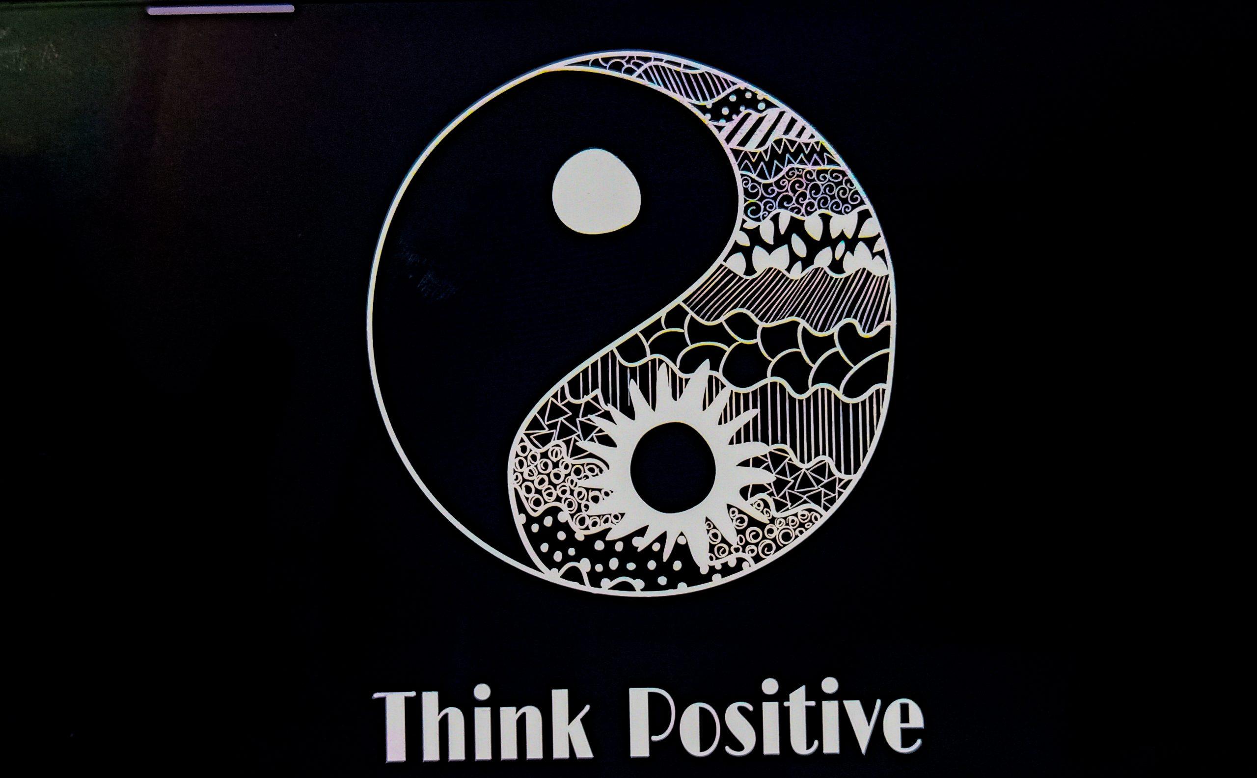 Think Positive Illustration