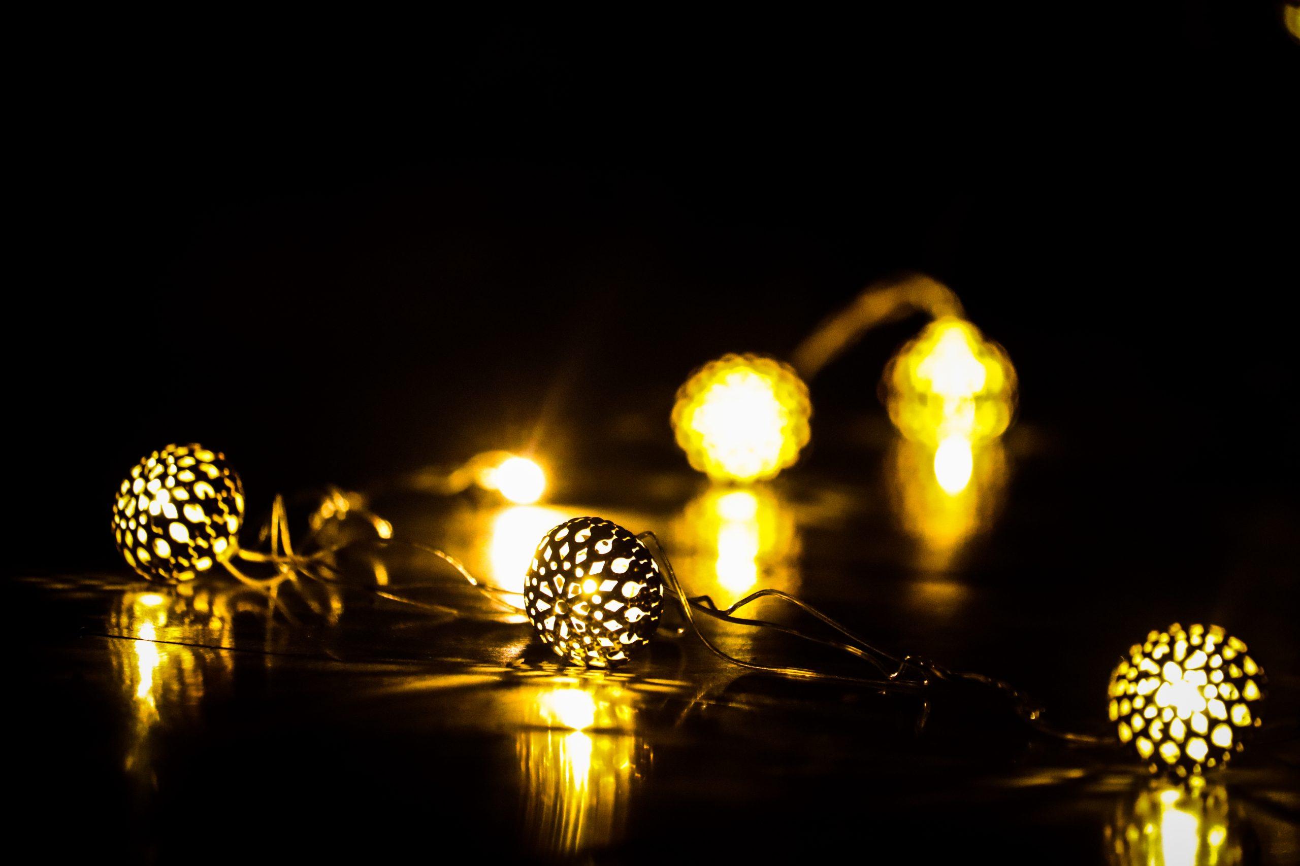 Diwali decorative light bulbs