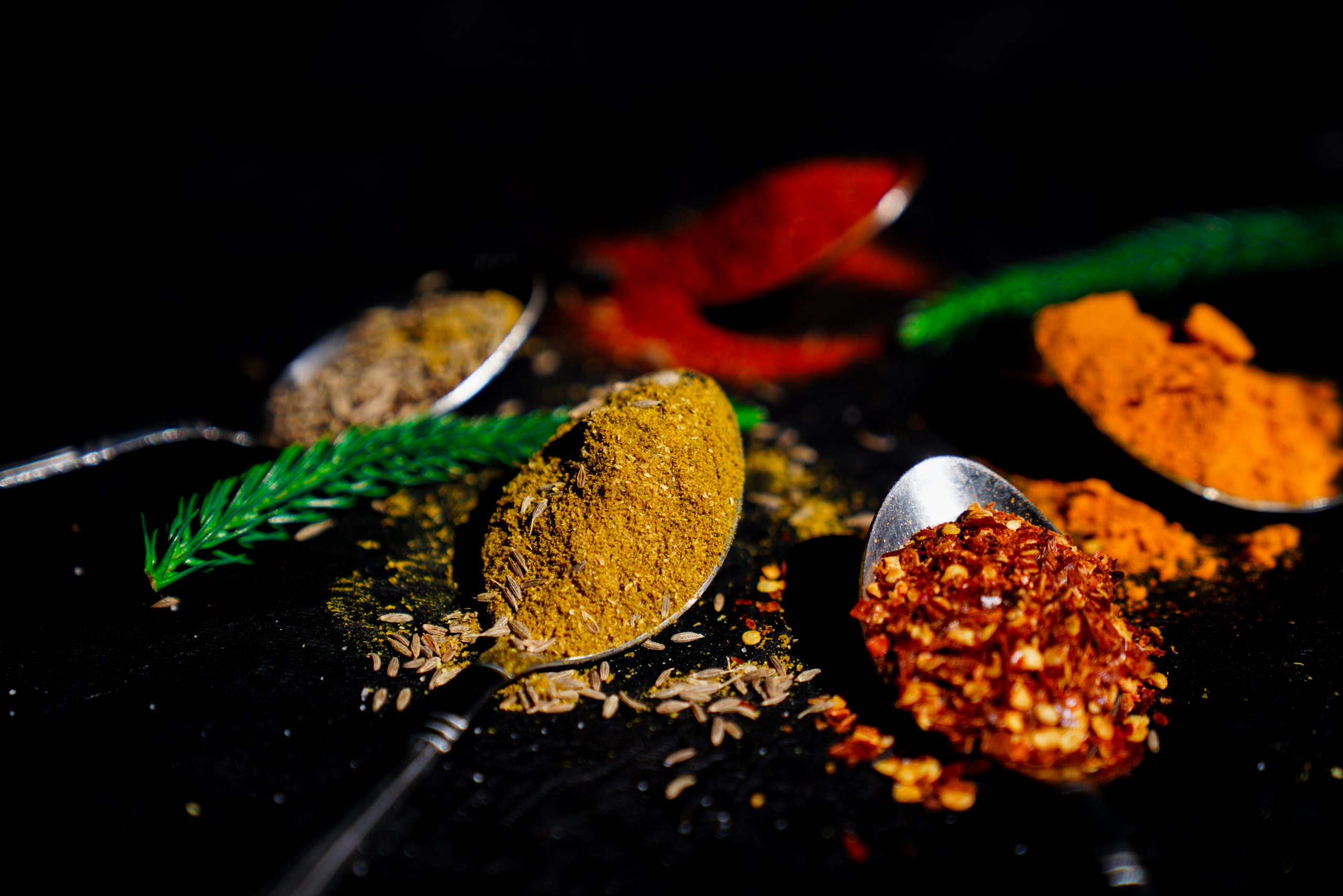 Indian grinded spices