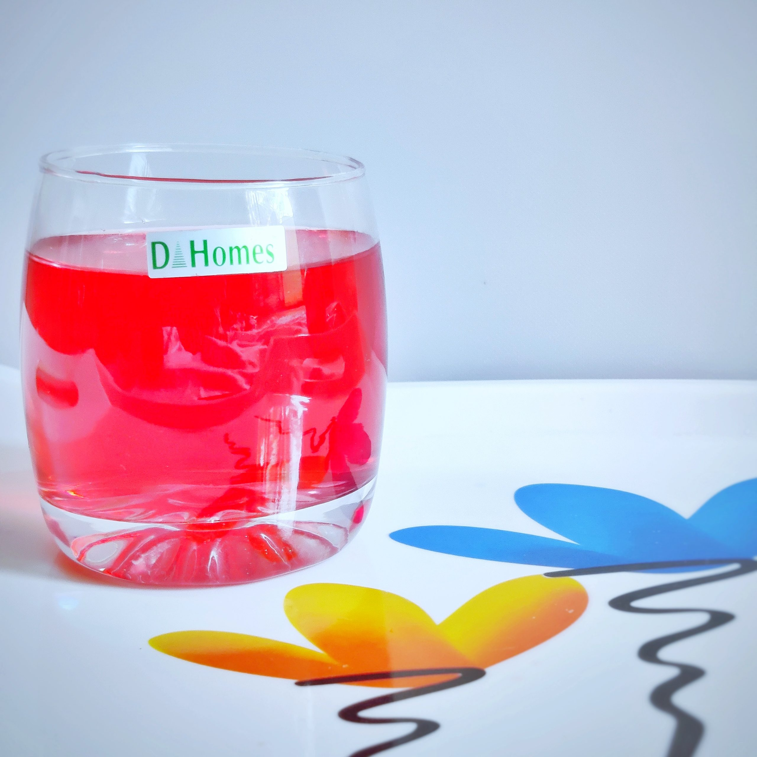 A juice glass