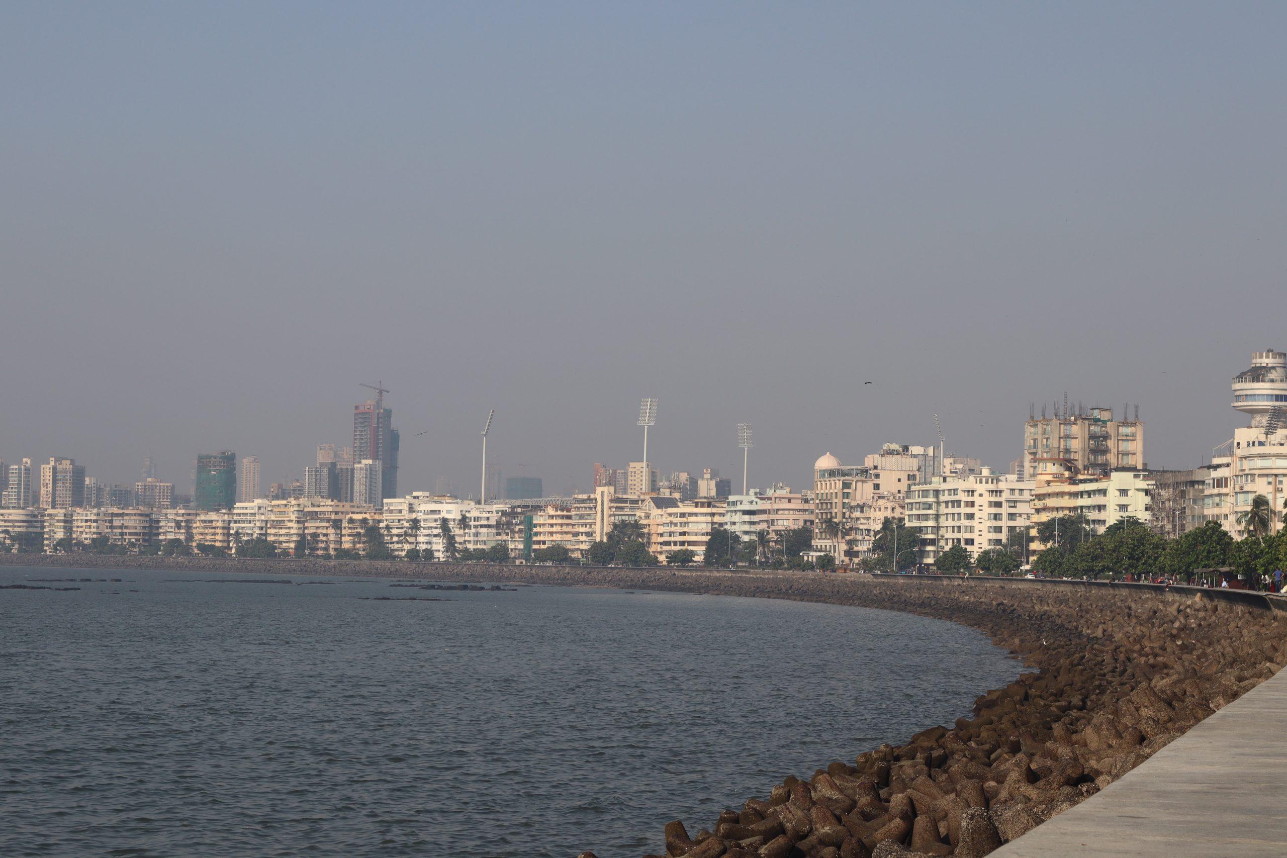 Marine drive beach, Mumbai