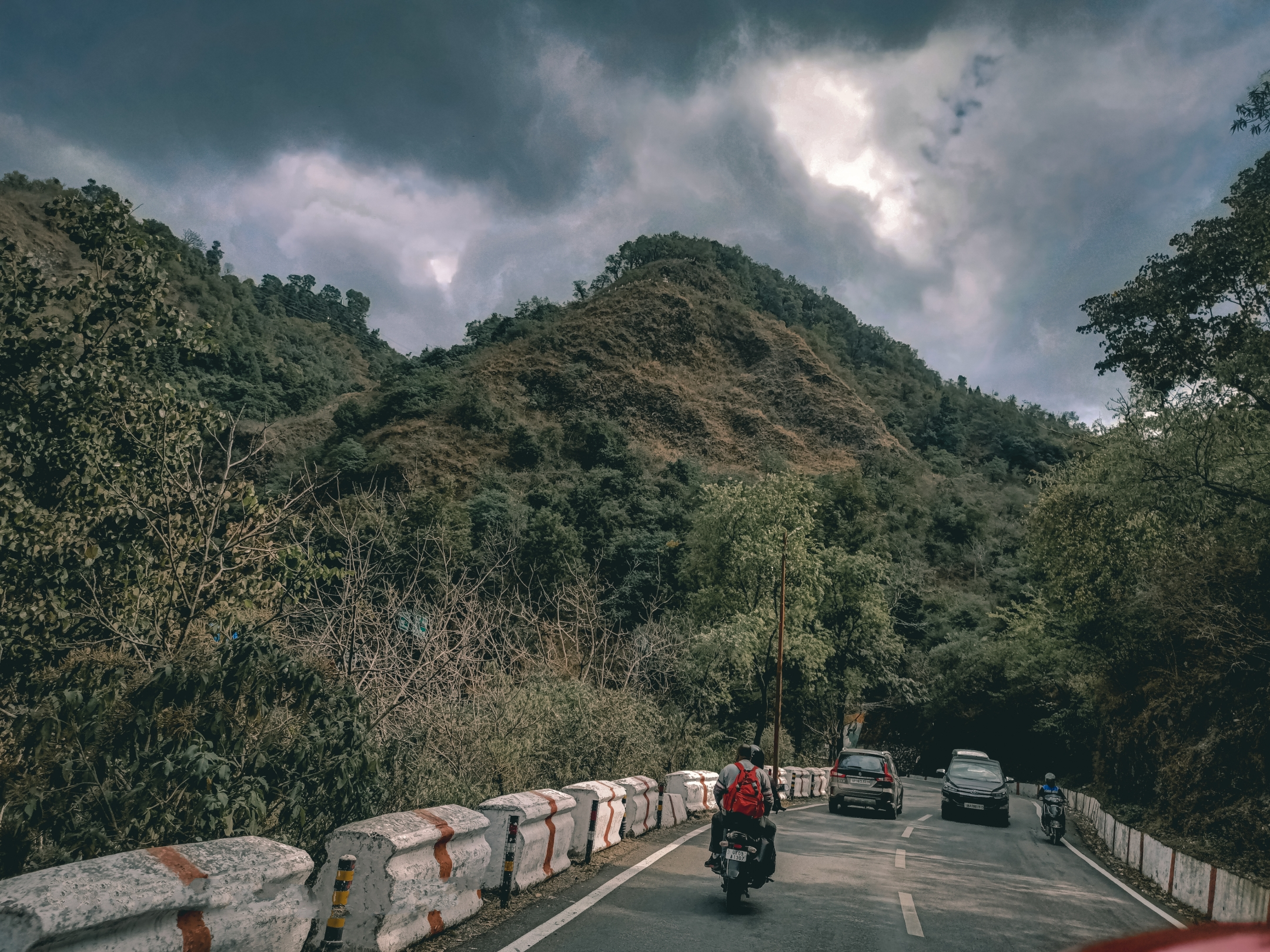 Mussoorie hill station roads