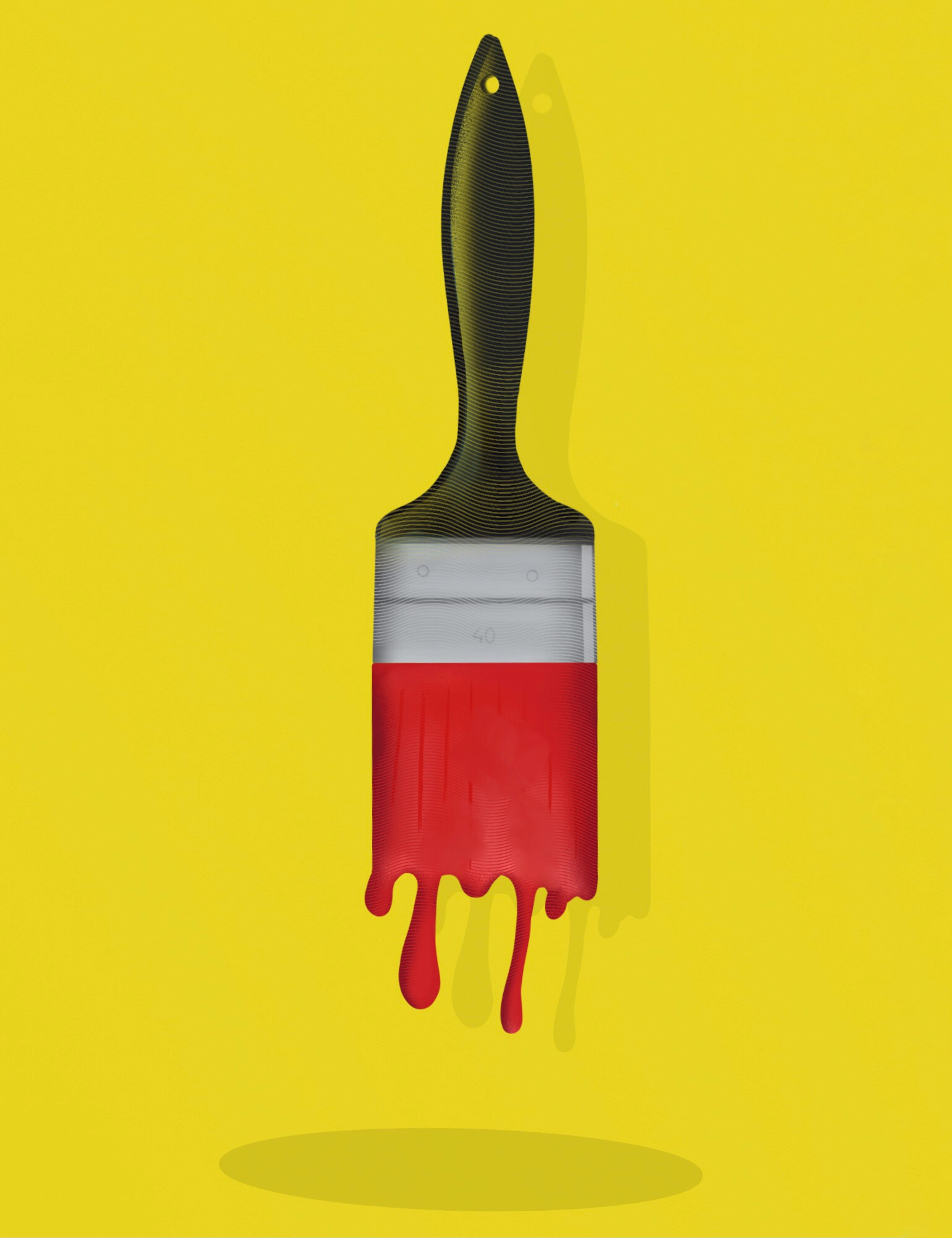 Paint brush illustration
