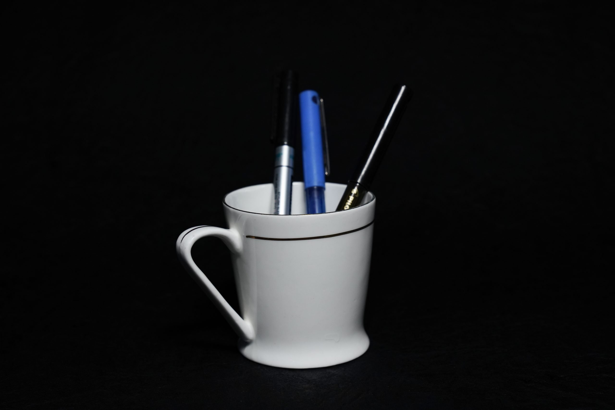 Pen in Tea Cup