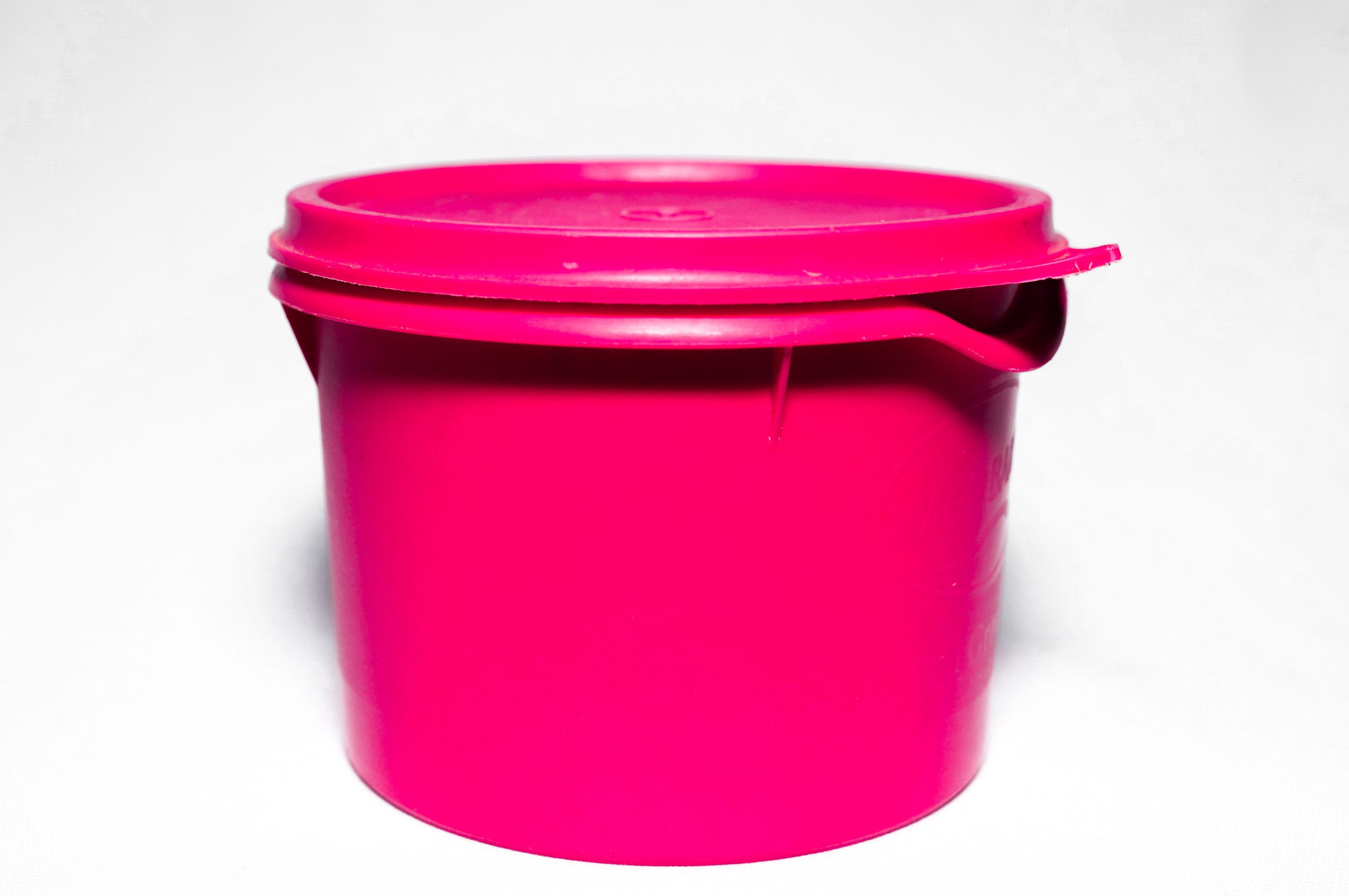 Pink box in white background