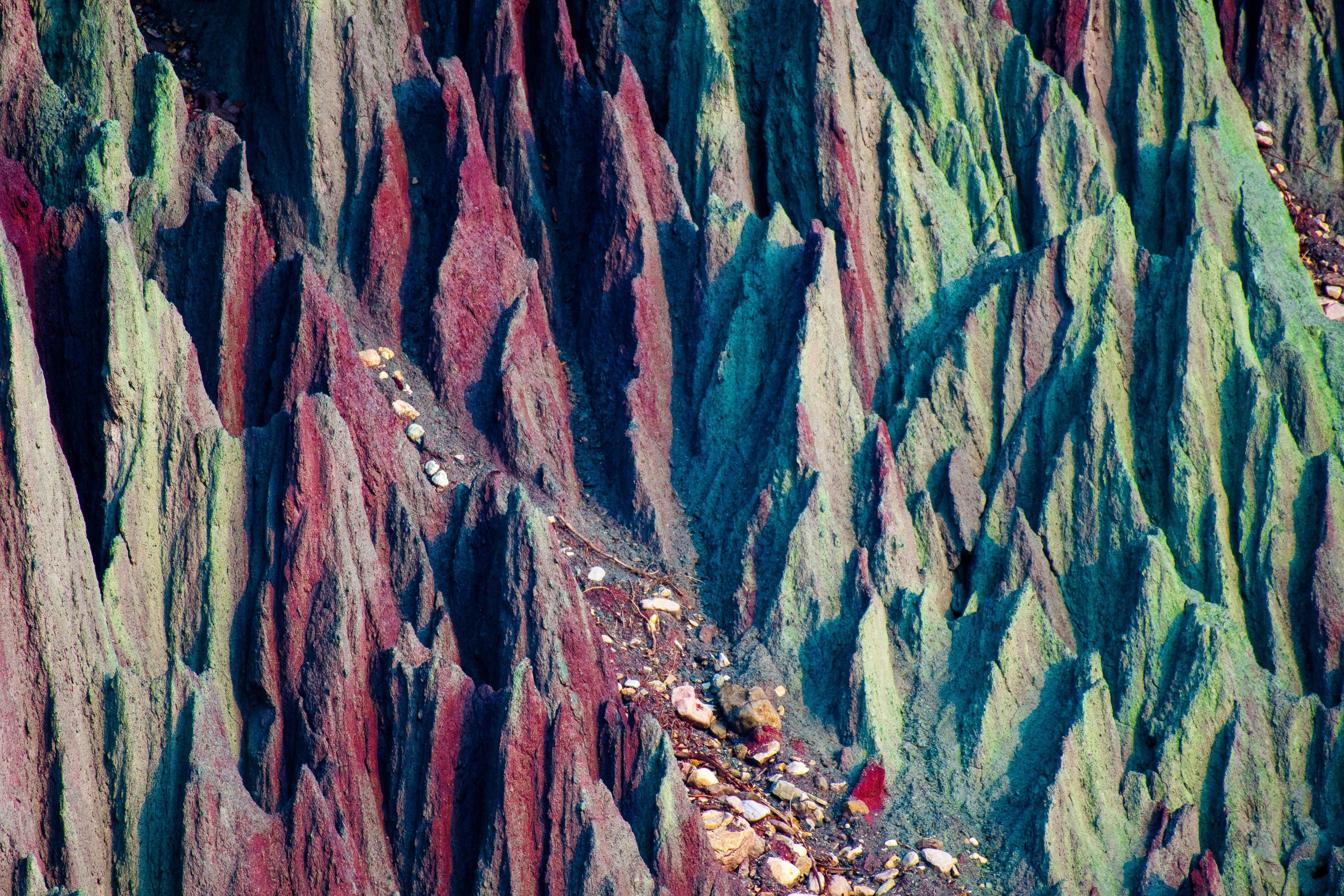 Pointed rocks of Himalaya