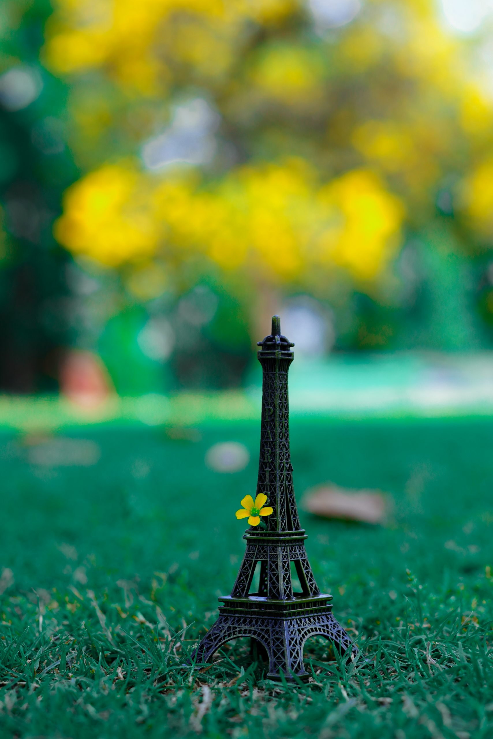 Prototype of Eiffel tower