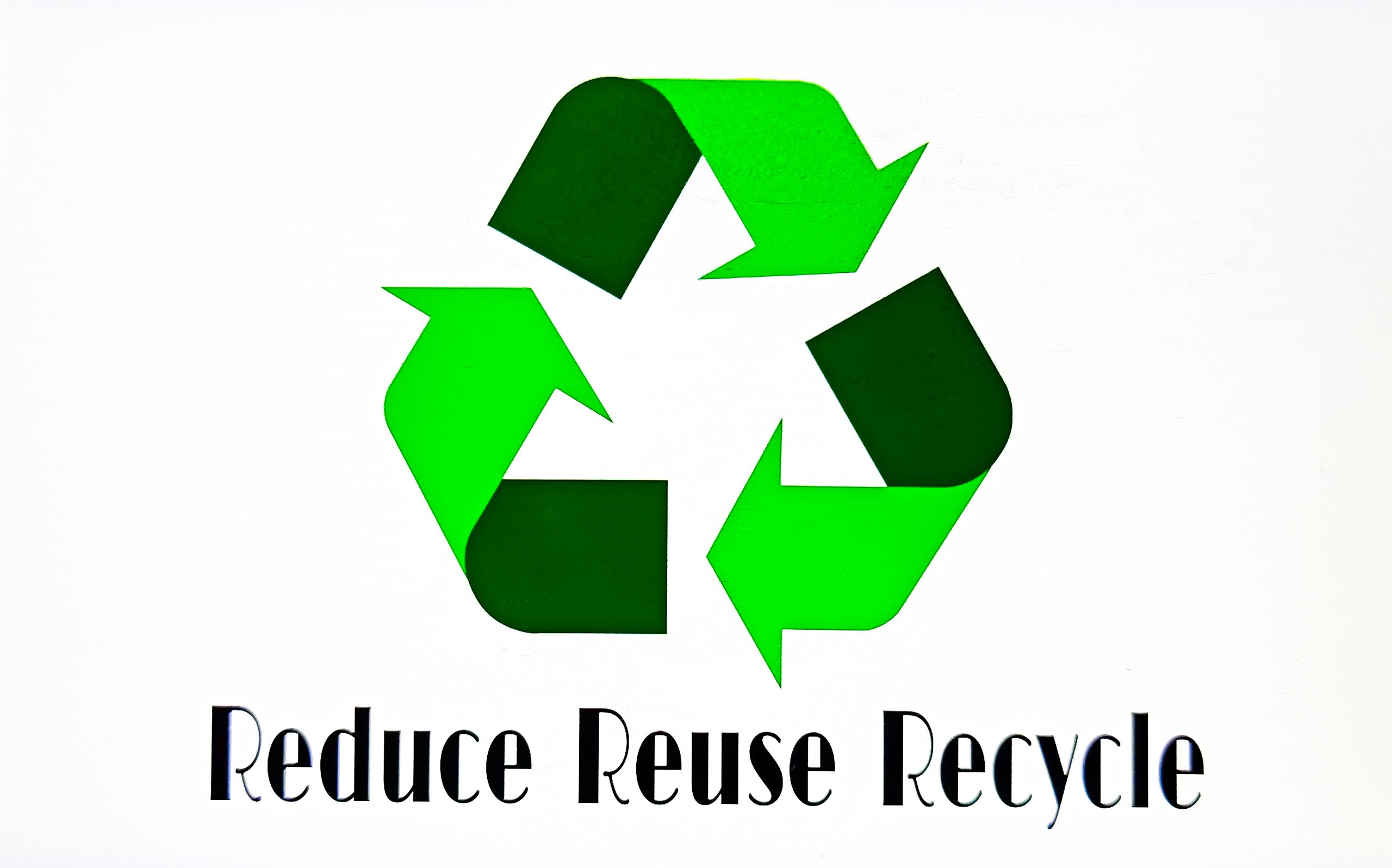Reduce Reuse Recycle Illustration